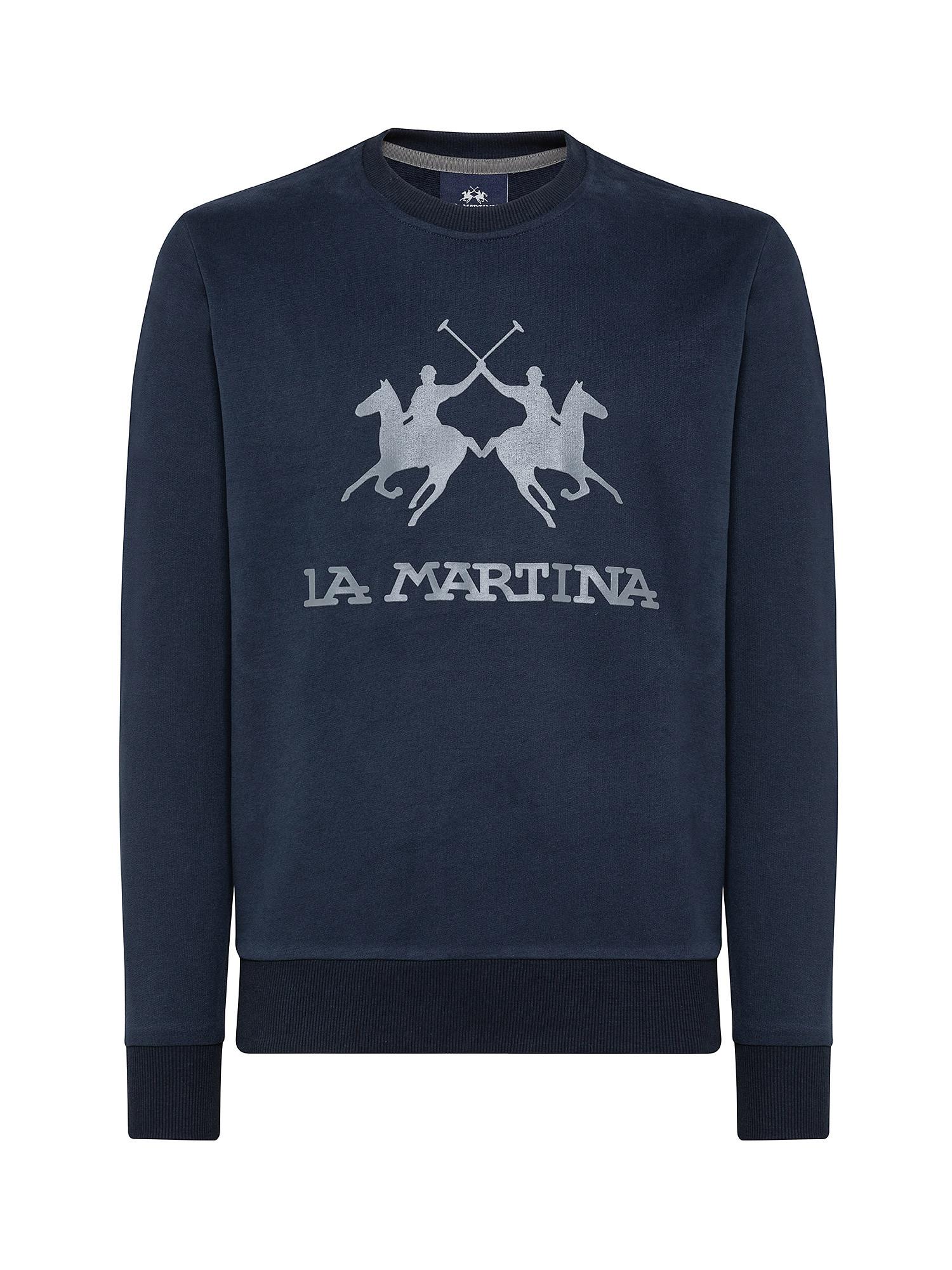 Maglioncino uomo regular fit, Blu, large image number 0