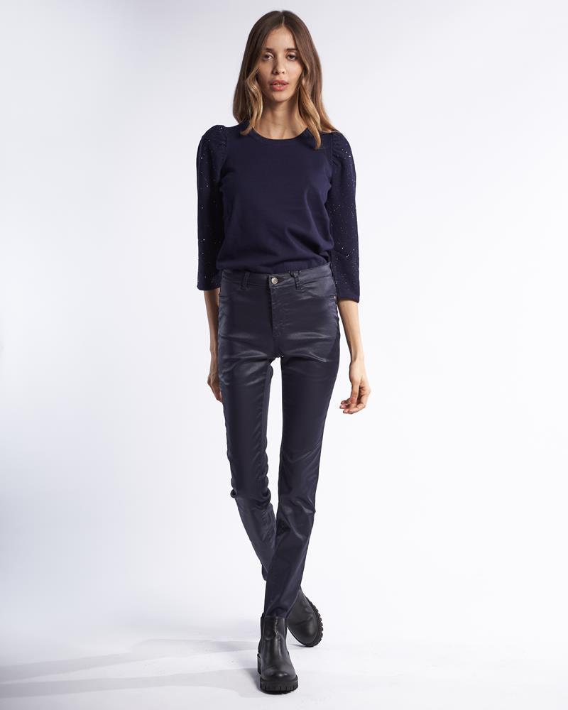 Pantaloni, Blu, large image number 3