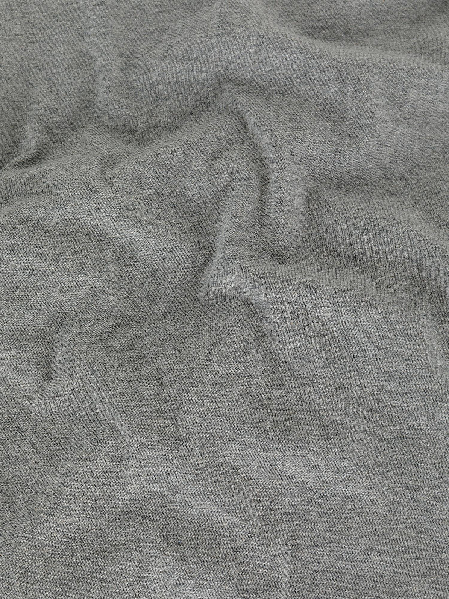 Parure copripiumino jersey di cotone tinta unita, Grigio, large image number 2