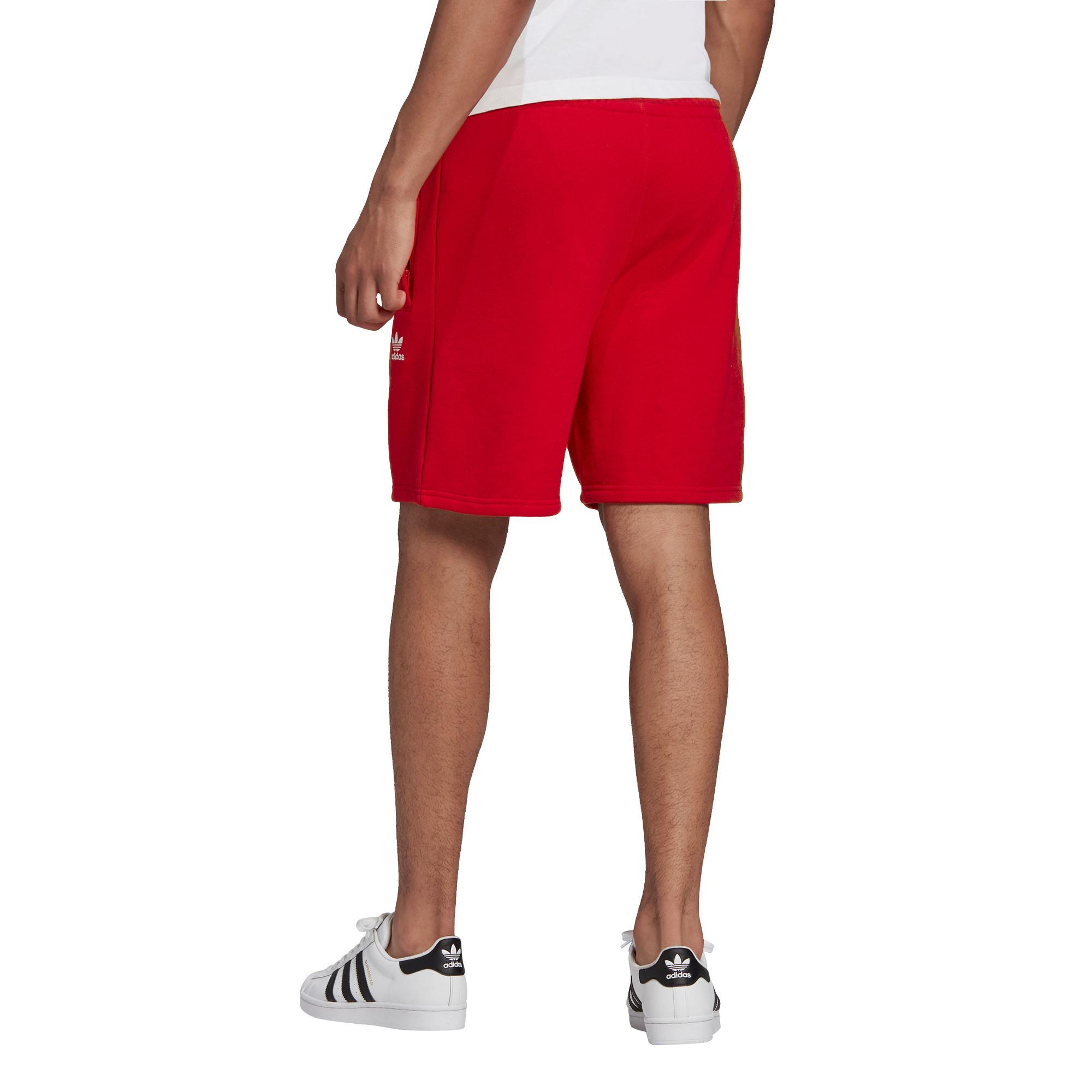 Short loungewear trefoil Essentials, Rosso, large image number 5