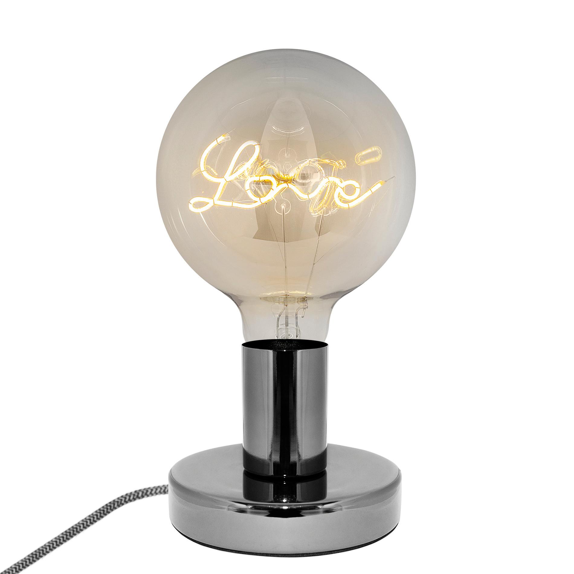 Lampada da tavola Punto Luce LEDbyLED, Grigio, large image number 0
