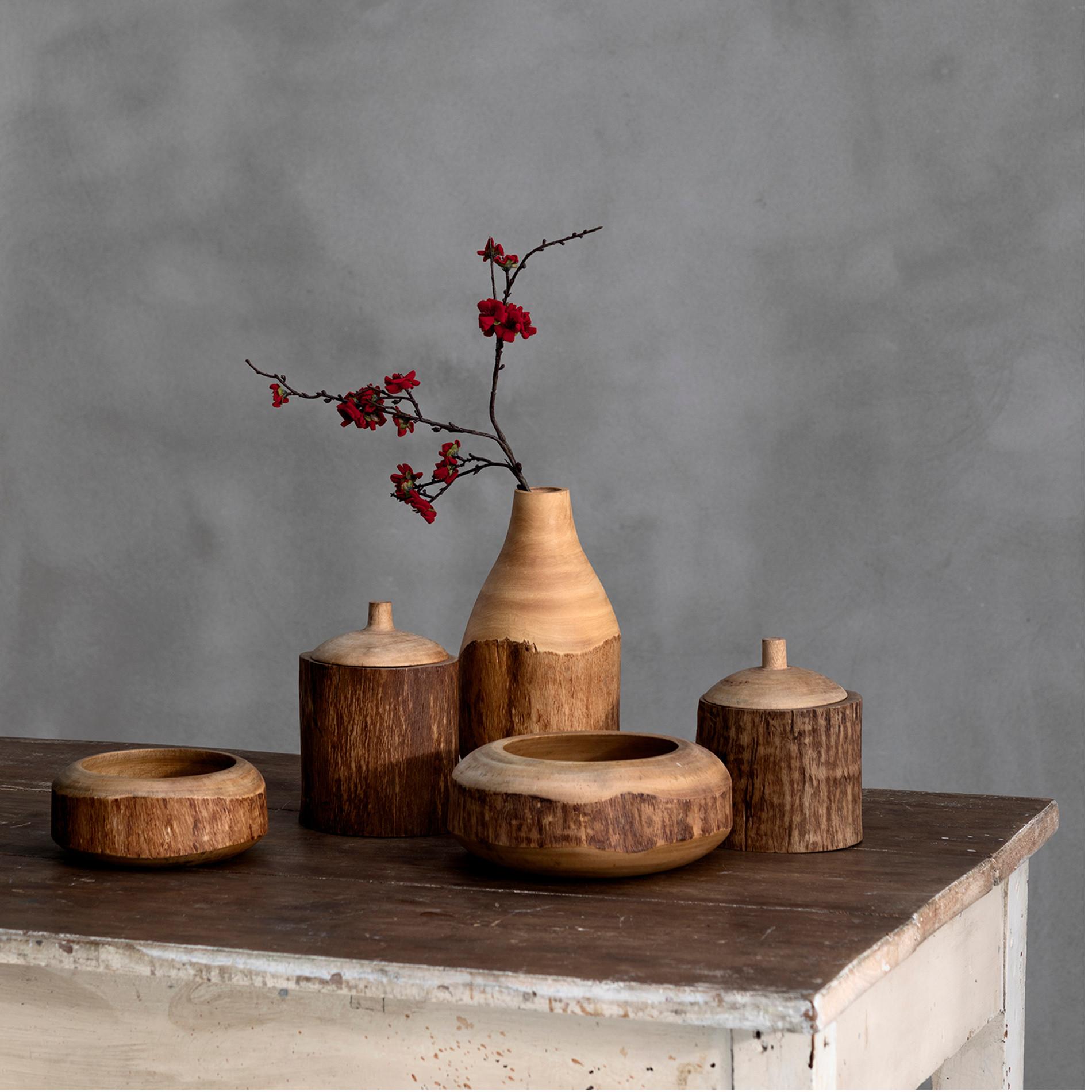 Box legno di mango decorato a mano, Marrone, large image number 3