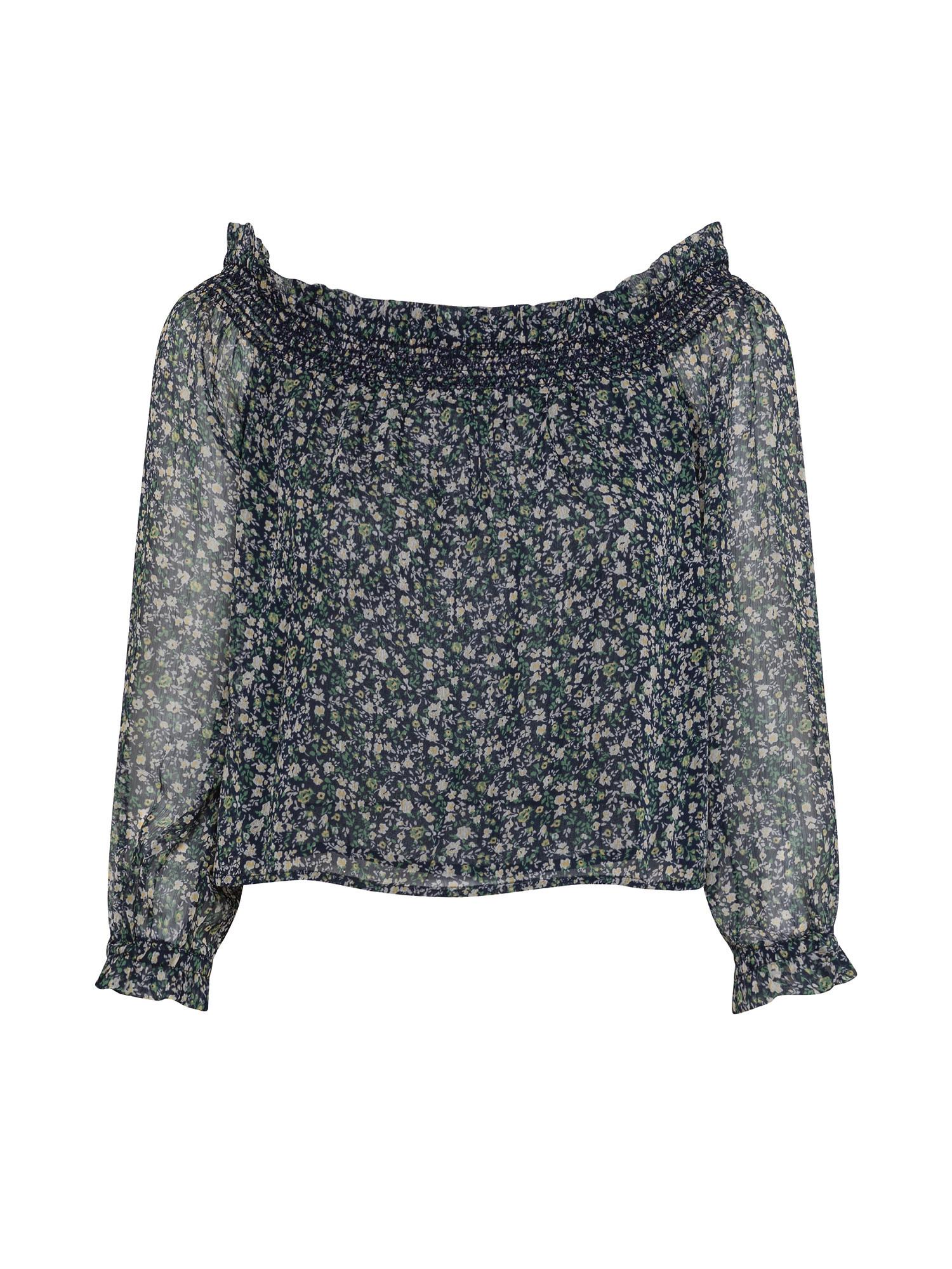 Blusa senza spalle Louise, Multicolor, large image number 0