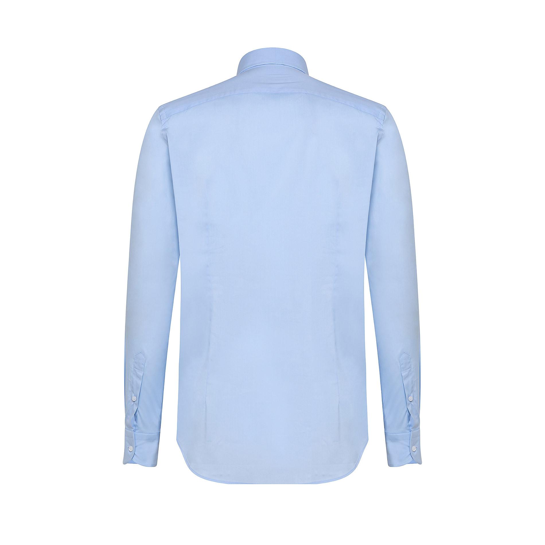 Camicia button-down popeline di cotone, Azzurro, large image number 1