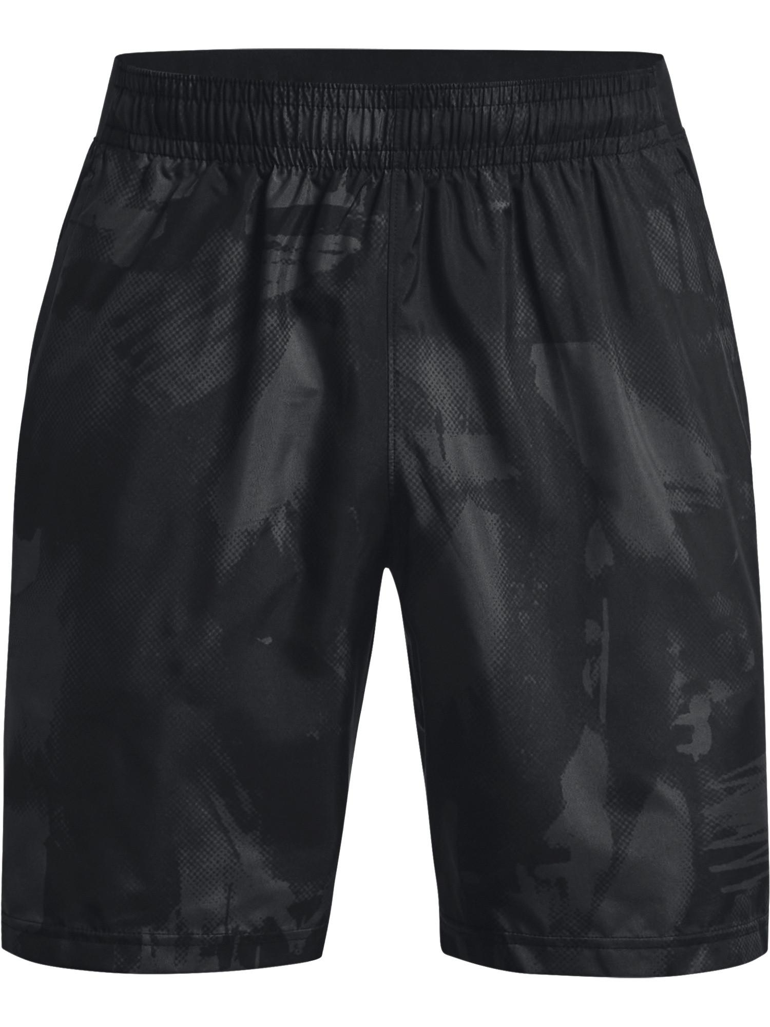 Shorts UA Woven Adapt da uomo, Nero, large image number 0