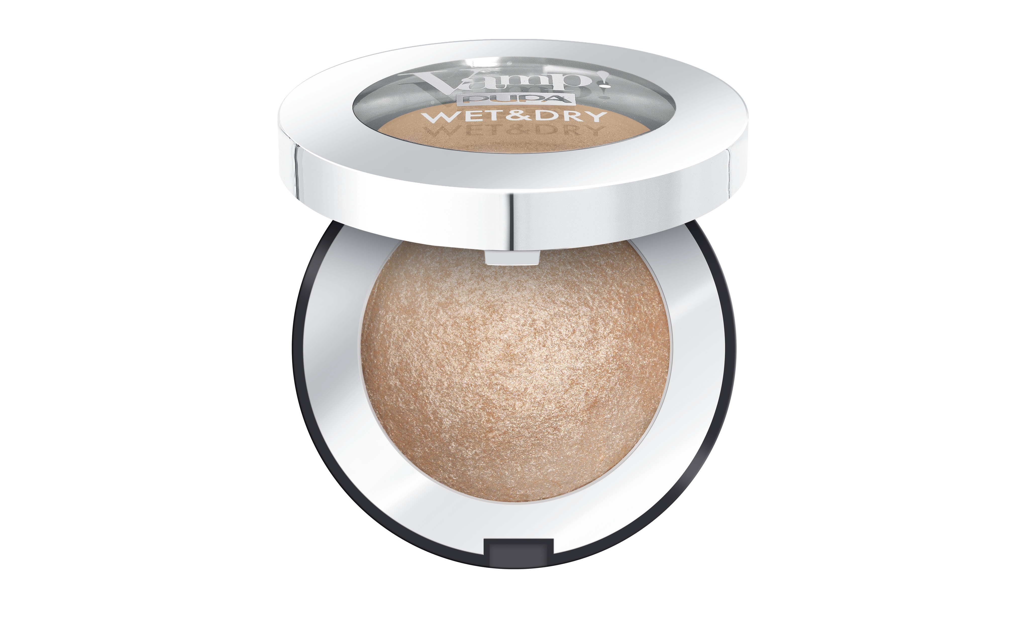 Pupa vamp! Wet&dry ombretto - 100, 100CHAMPAGNE GOLD, large image number 0