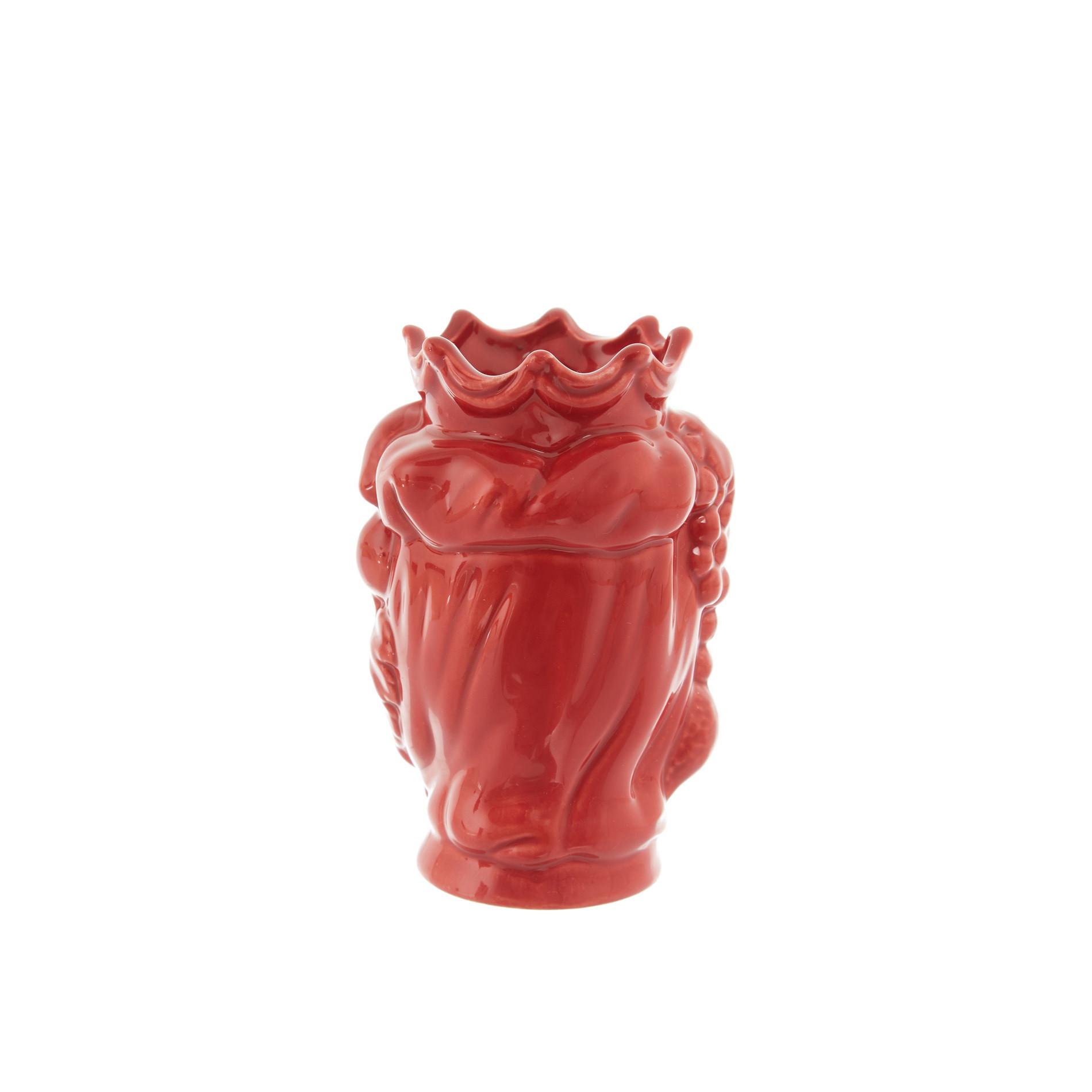 Testa di moro by Ceramiche Siciliane Ruggeri, Rosso, large image number 2