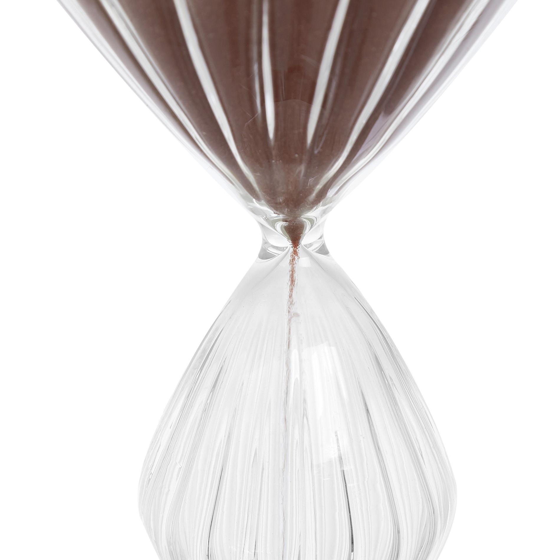 Clessidra vetro con sabbia colorata, Trasparente, large image number 1