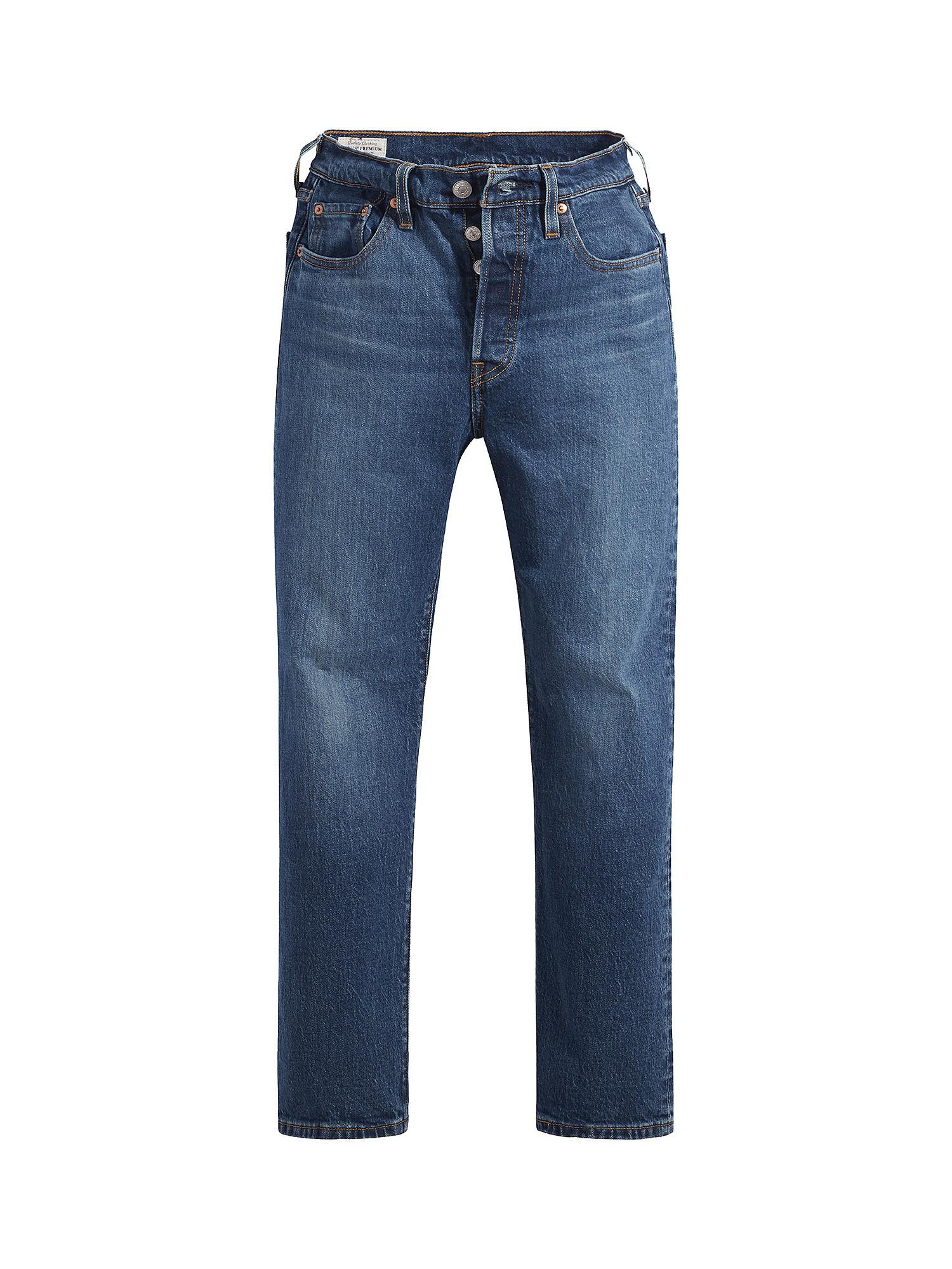 Jeans donna 501 crop, Denim, large image number 0