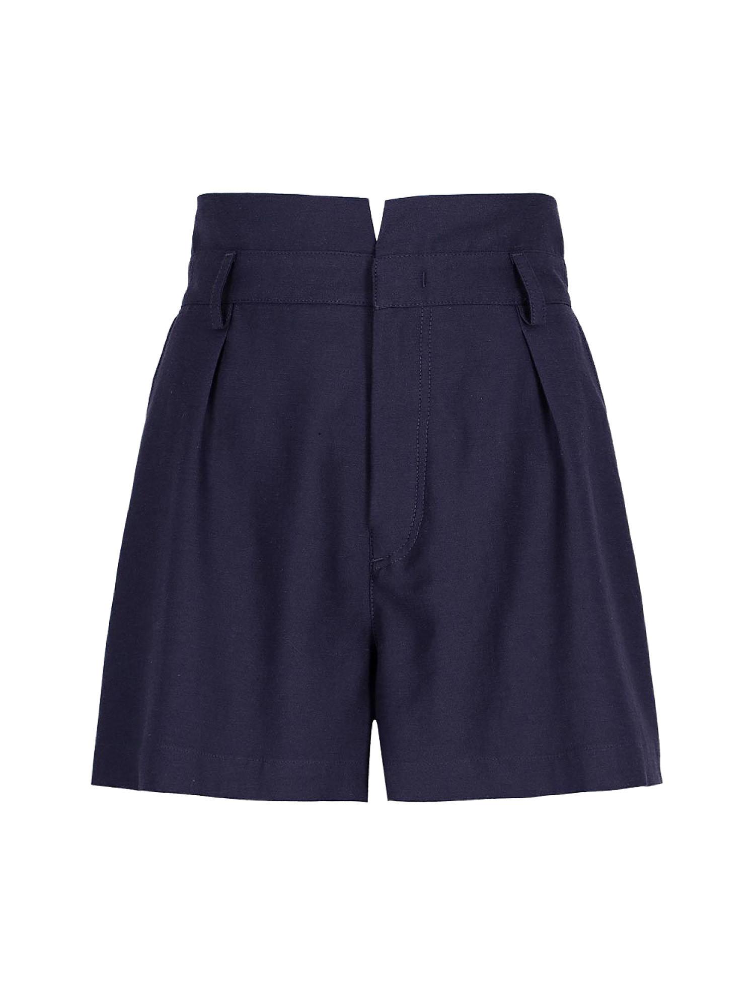 Shorts in shantung Ginger, Viola lilla, large image number 0