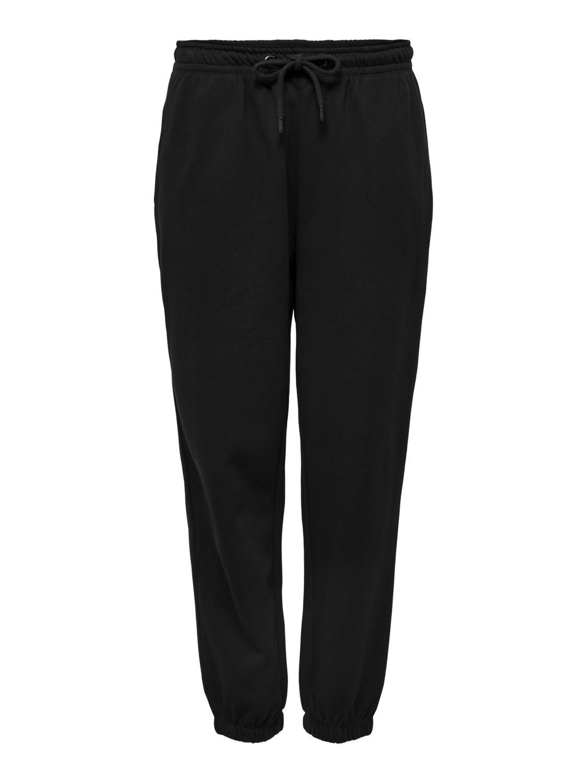 Pantaloni tuta donna, Nero, large image number 0
