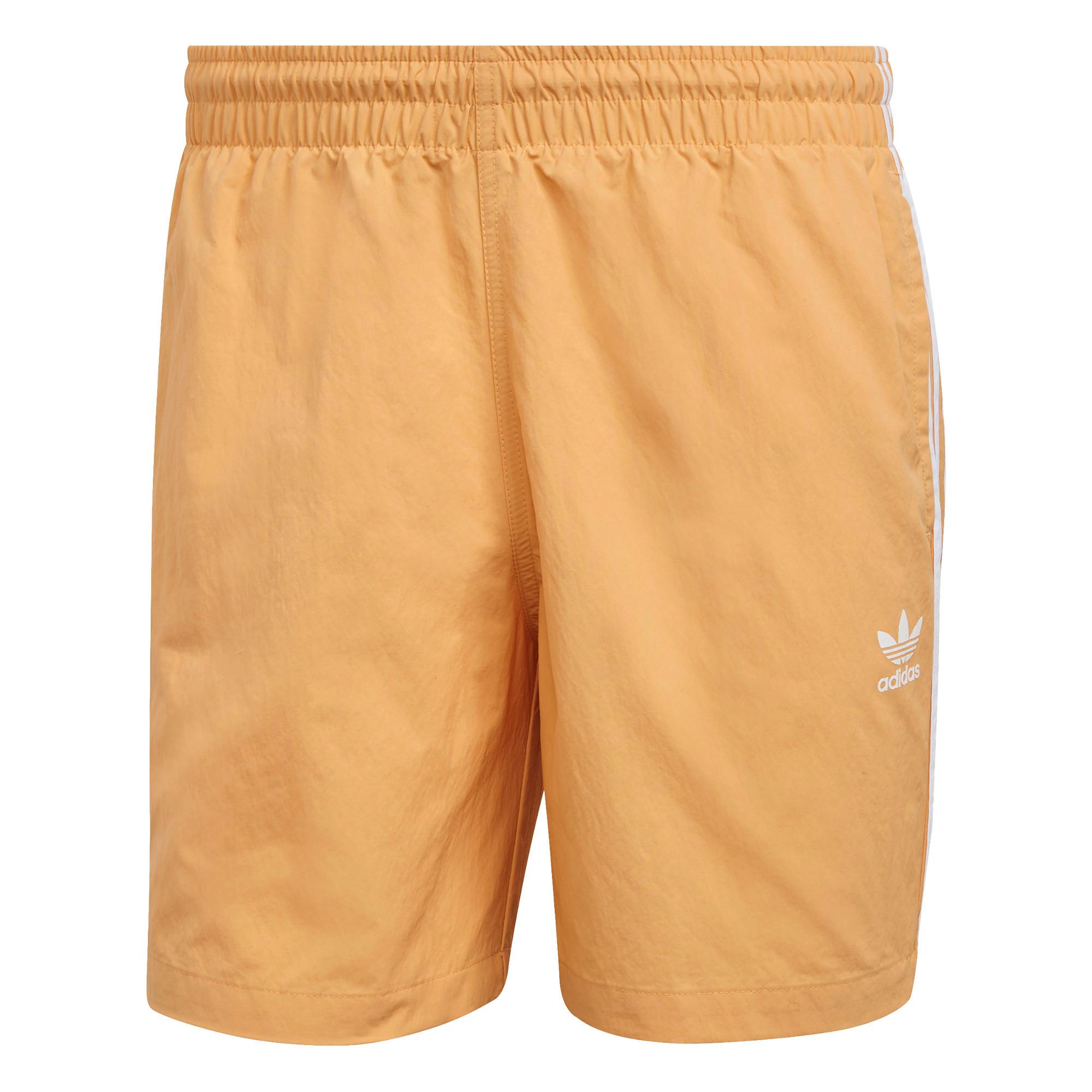 Short da nuoto adicolor classics 3-stripes, Arancione, large image number 0