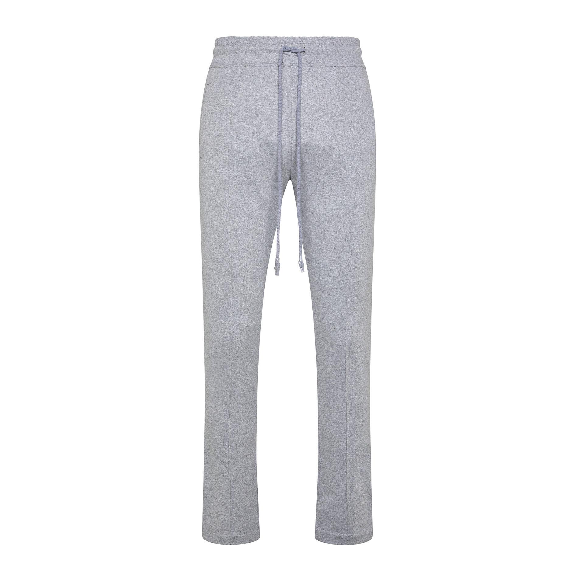 Pantalone felpa di cotone JCT, Grigio, large image number 0