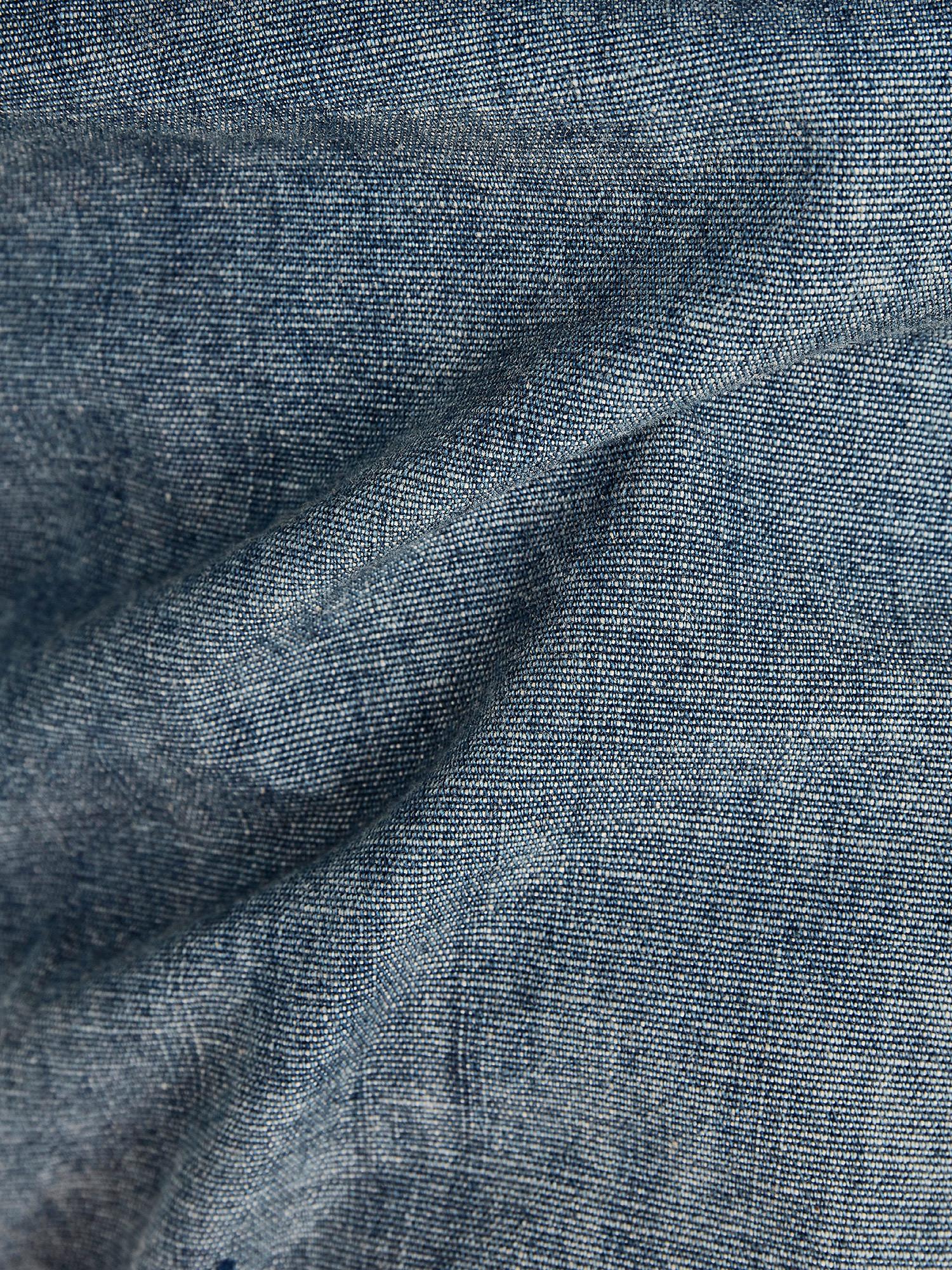 Camicia Chambray slim, Denim, large image number 3