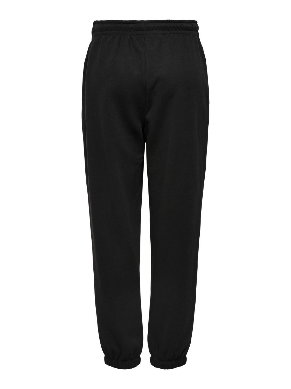 Pantaloni tuta donna, Nero, large image number 1