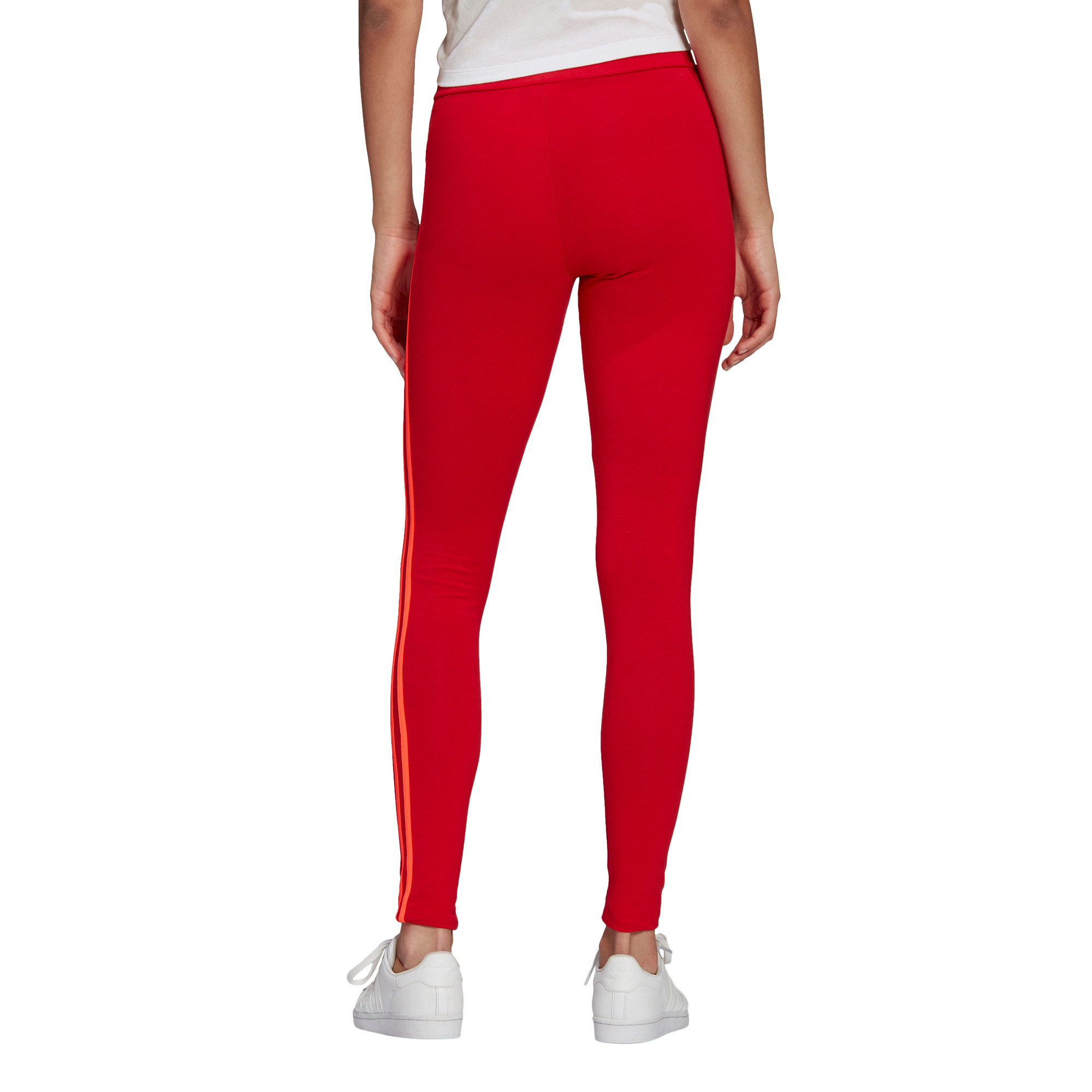 Tight adicolor Sliced Trefoil High-Waisted, Rosso, large image number 1
