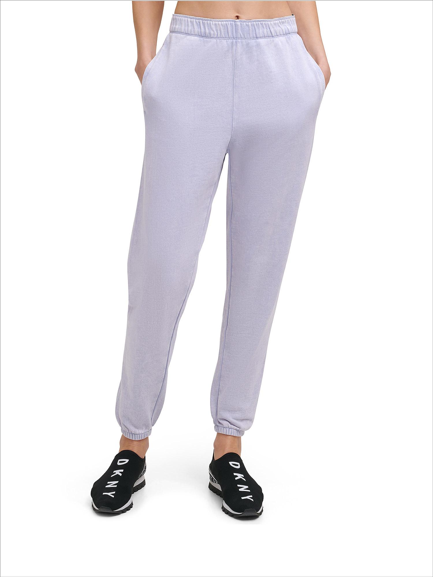 Pantaloni boyfriend acid wash, Azzurro, large image number 3