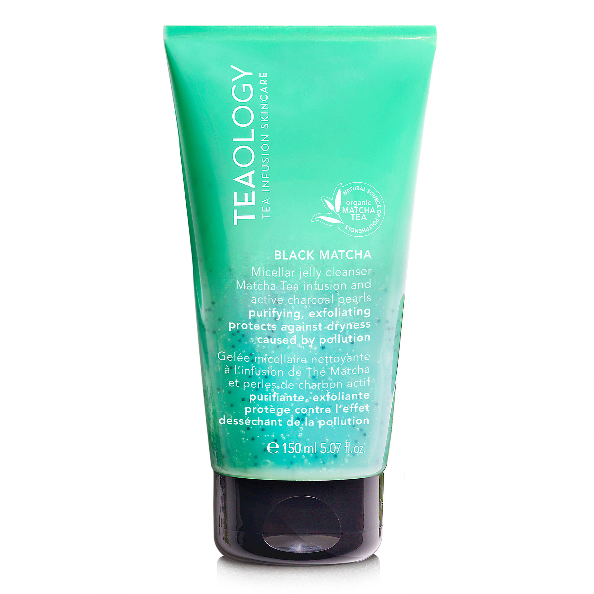 Teaology Black Matcha Micellar Jelly Cleanser 150 ml, Verde, large image number 0