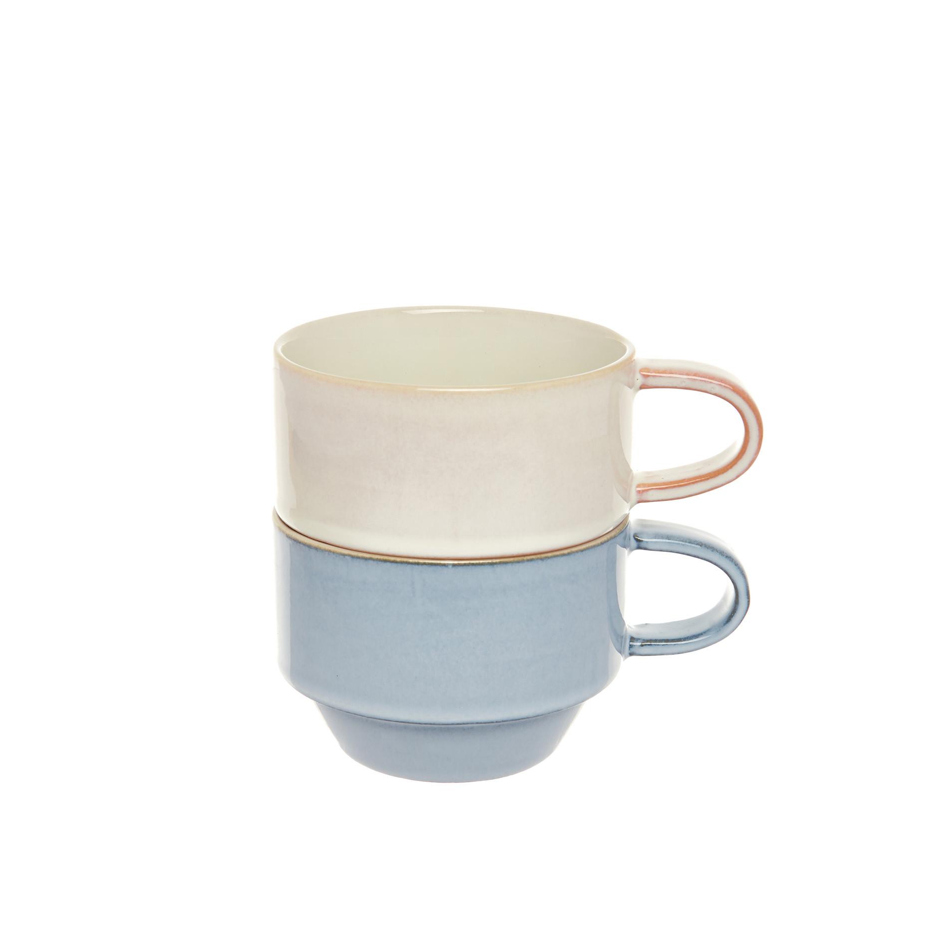 Tazze da tè stoneware colorate, Multicolor, large image number 0