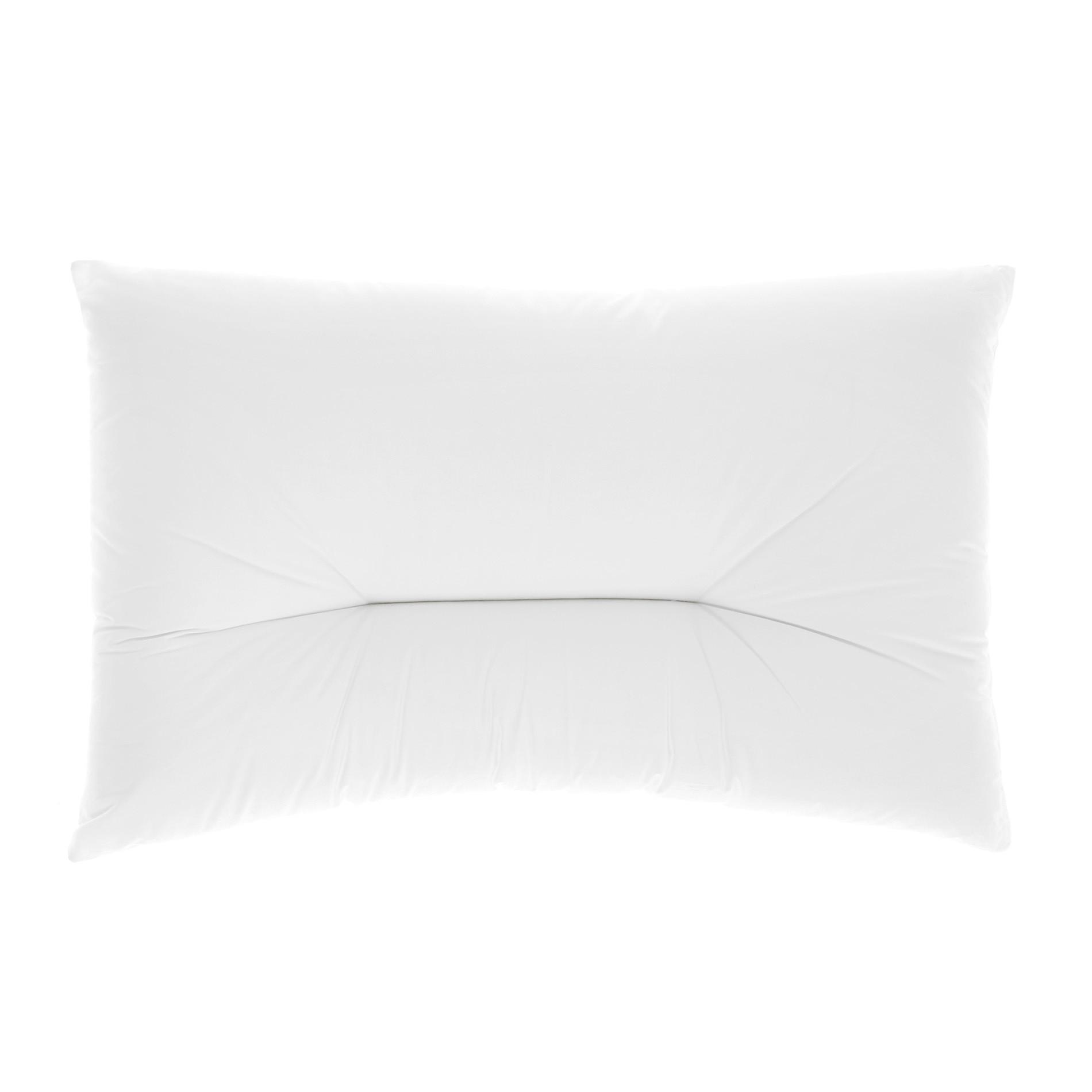 Guanciale cervical comfort, Bianco, large image number 0