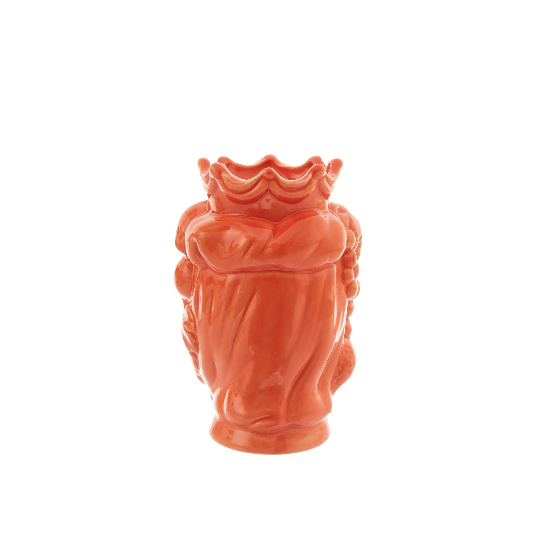 Testa di moro by Ceramiche Siciliane Ruggeri, Arancione, large image number 2