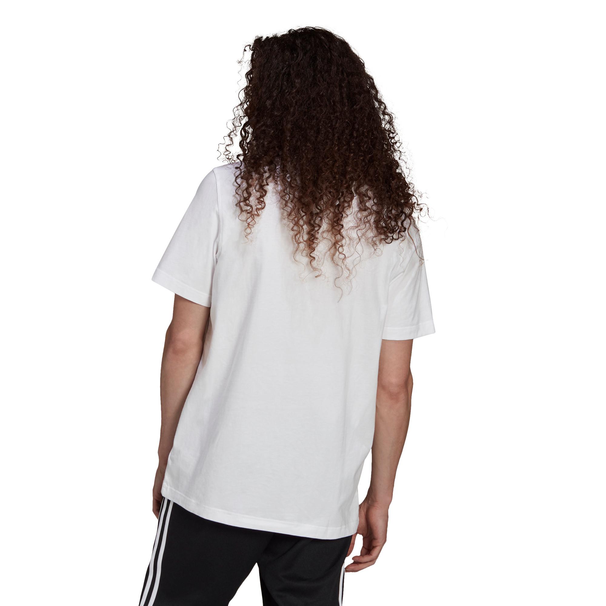 T-shirt uomo adicolor Classics Trefoil, Bianco/Nero, large image number 2