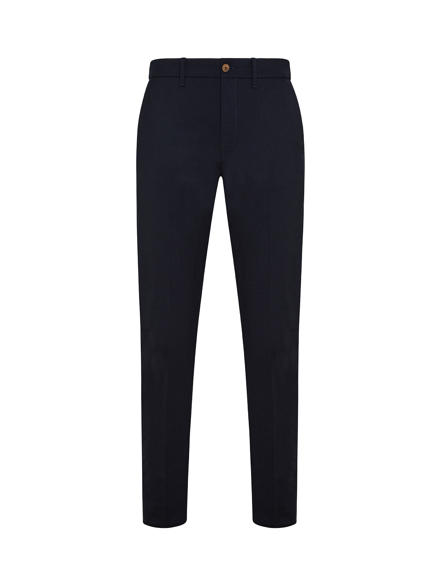 Pantaloni Chino coulisse, Blu scuro, large image number 0