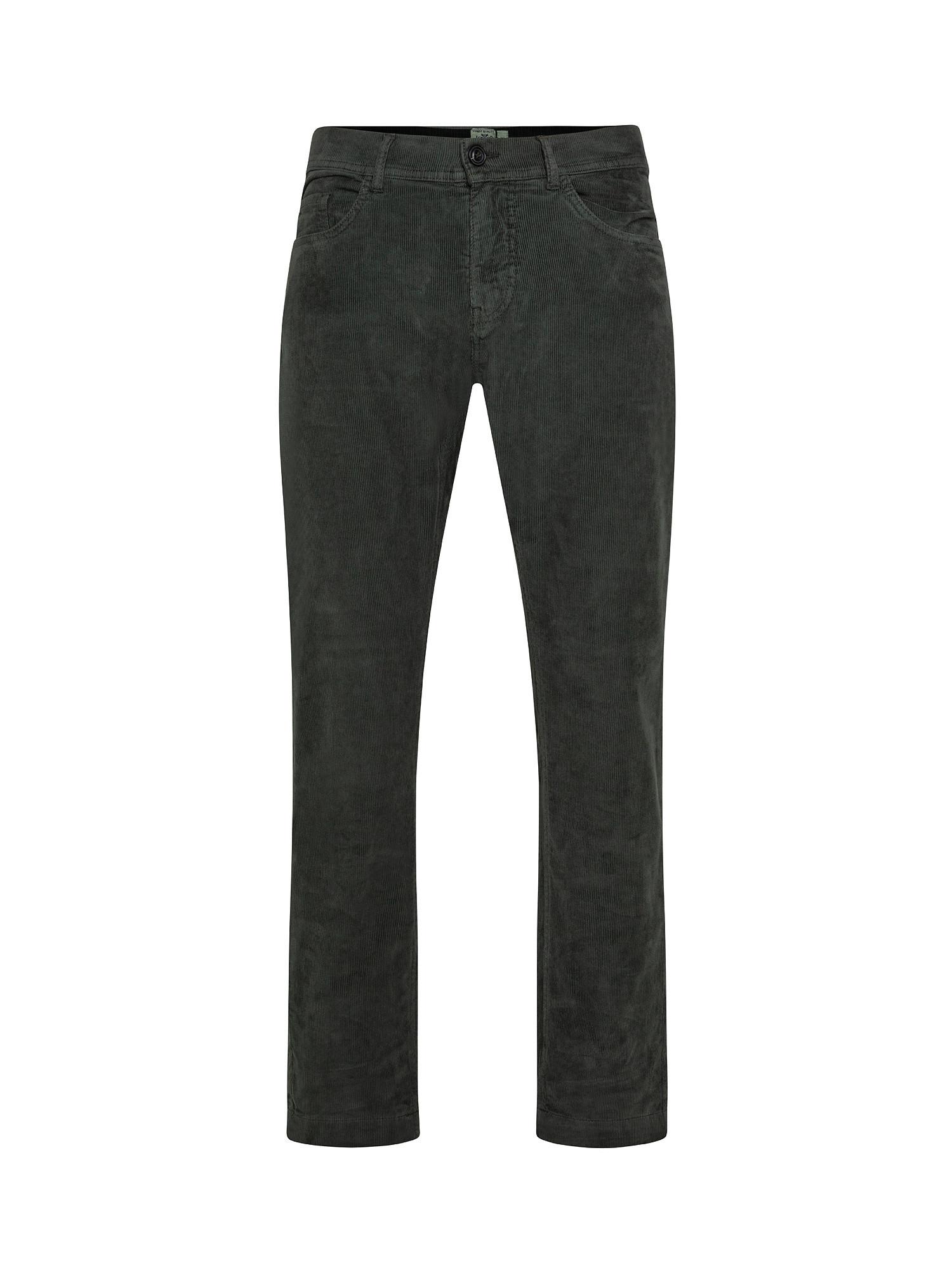 Pantalone 5 tasche, Nero, large image number 0