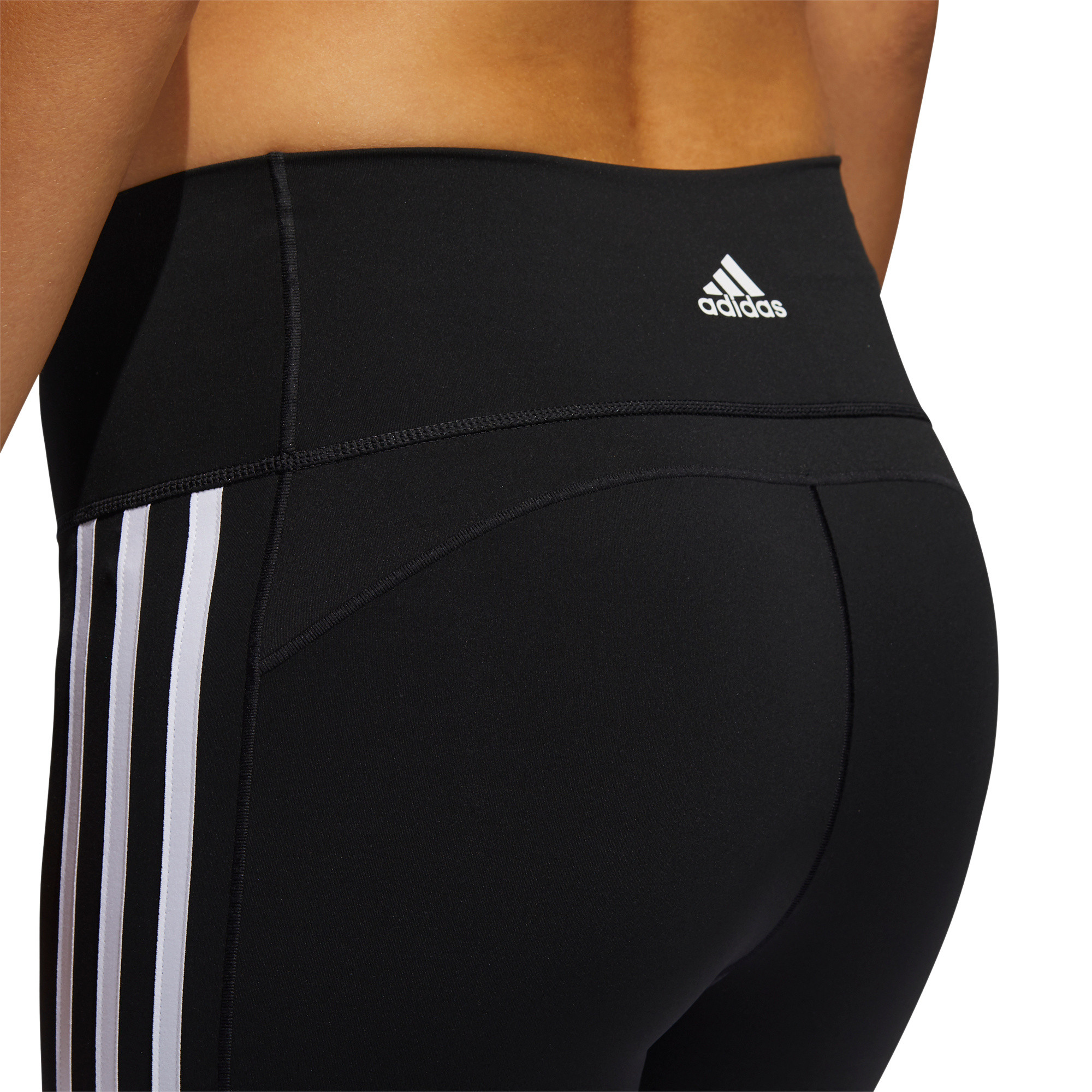 Tight 7/8 Believe This 2.0 3-Stripes, Nero, large image number 7
