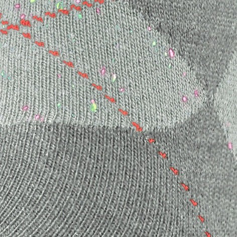 Calzini uomo Neon Pixel King, Grigio chiaro, large image number 2