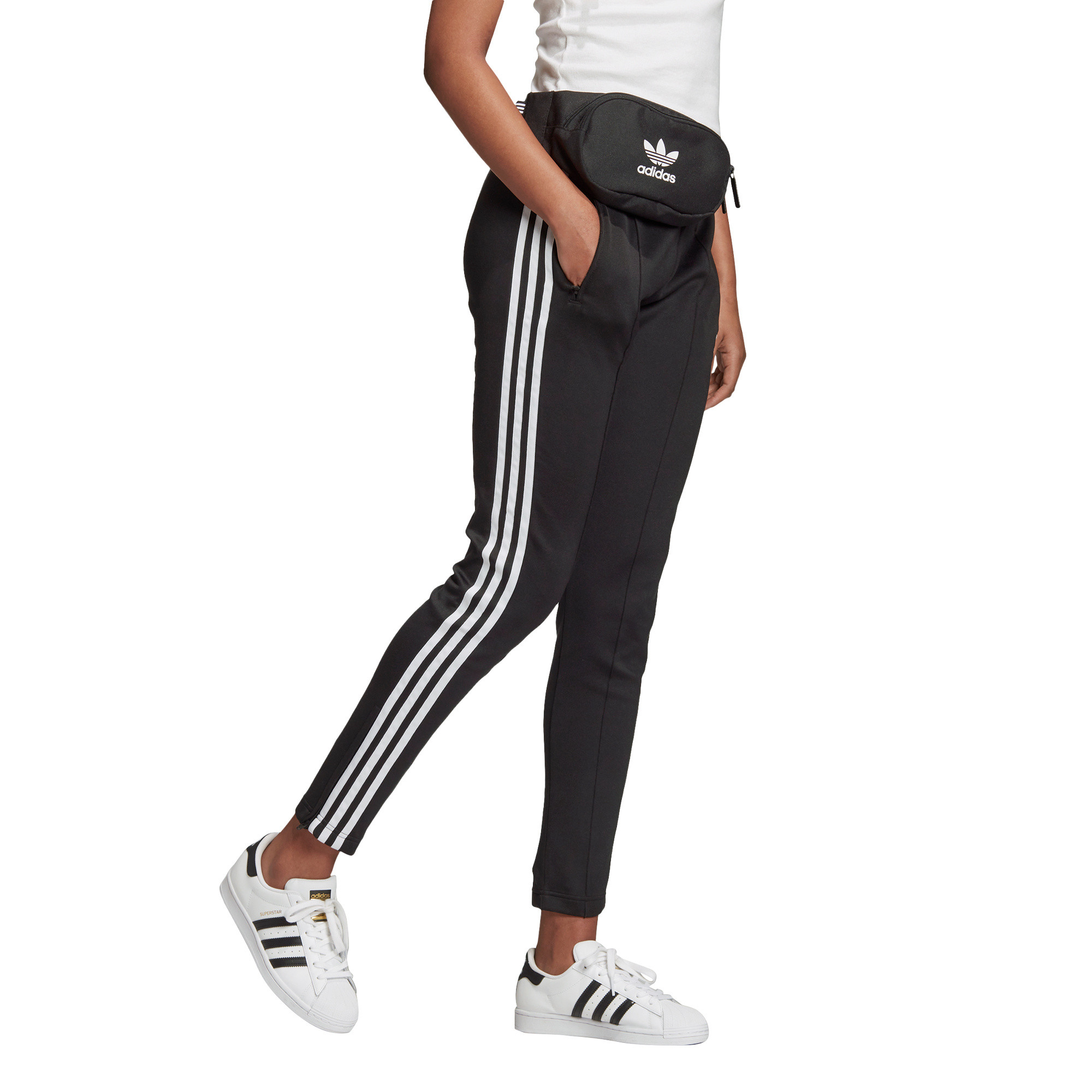 Pantaloni tuta Primeblue SST, Bianco/Nero, large image number 4