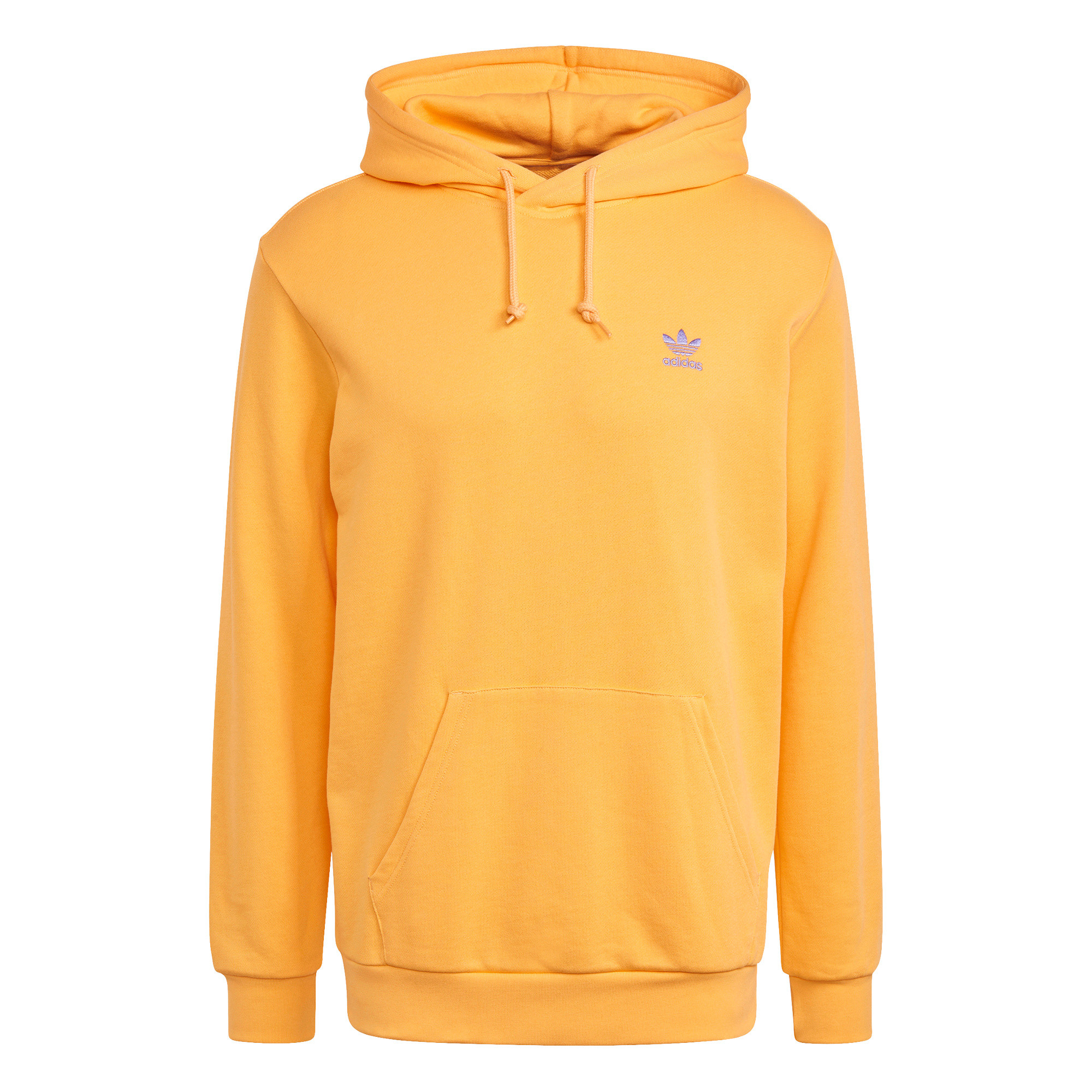 Felpa in spugna loungewear trefoil essentials, Arancione, large image number 0