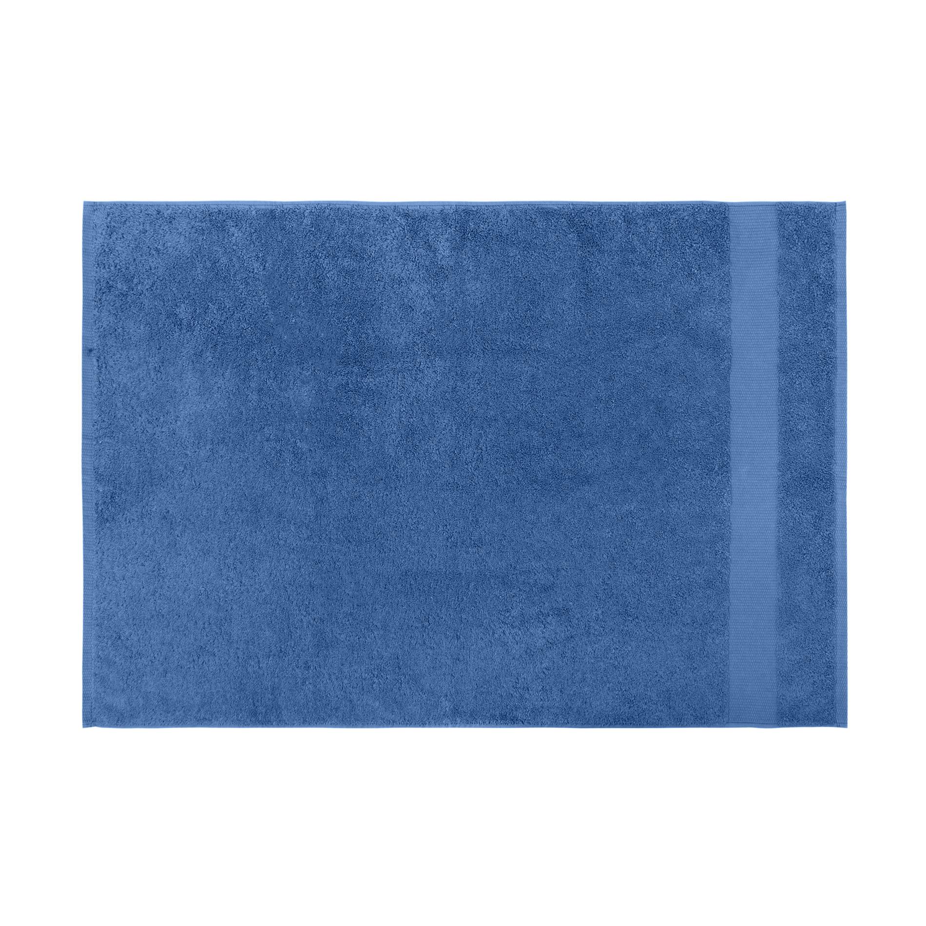Asciugamano spugna di puro cotone Zefiro, Blu bluette, large image number 2
