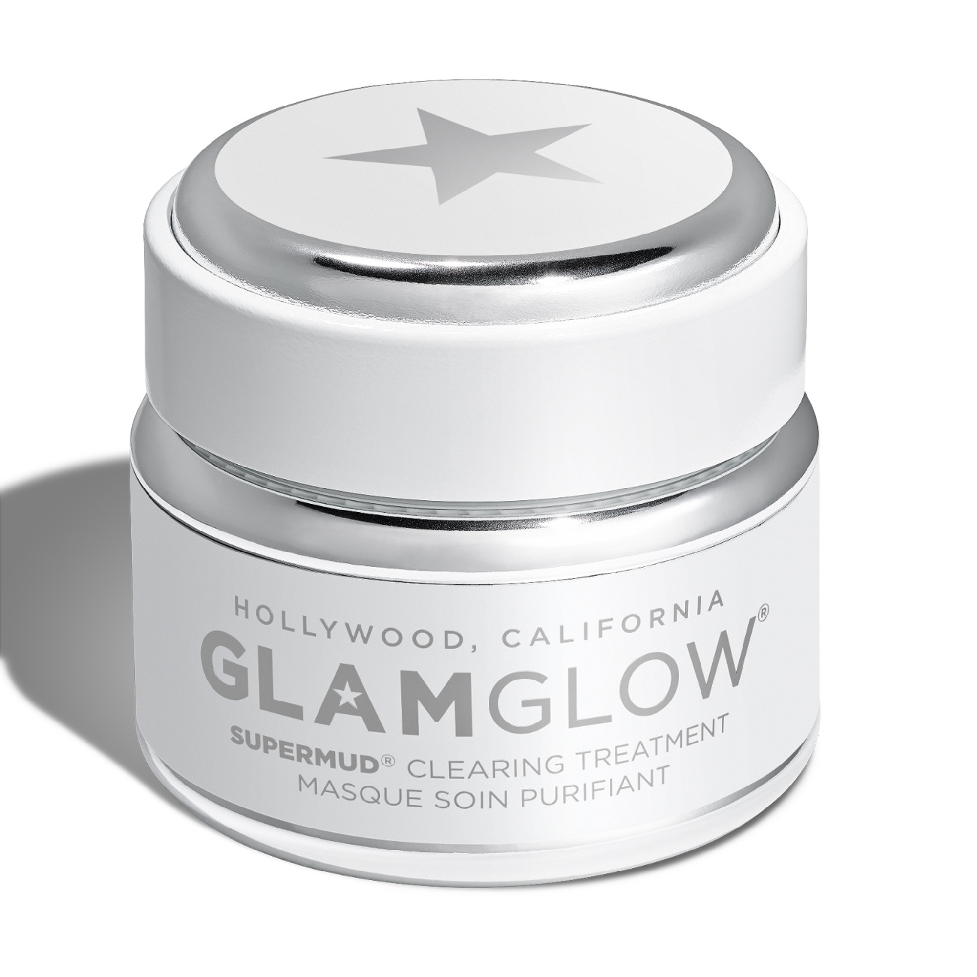 Glamglow supermud - clearing treatment 50 gr, Bianco, large image number 0