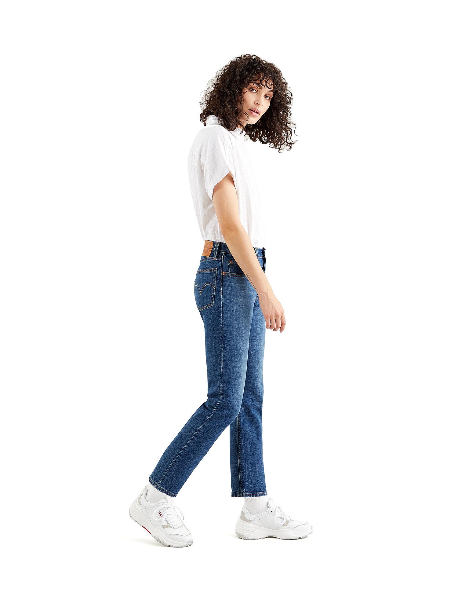 Jeans donna 501 crop, Denim, large image number 3