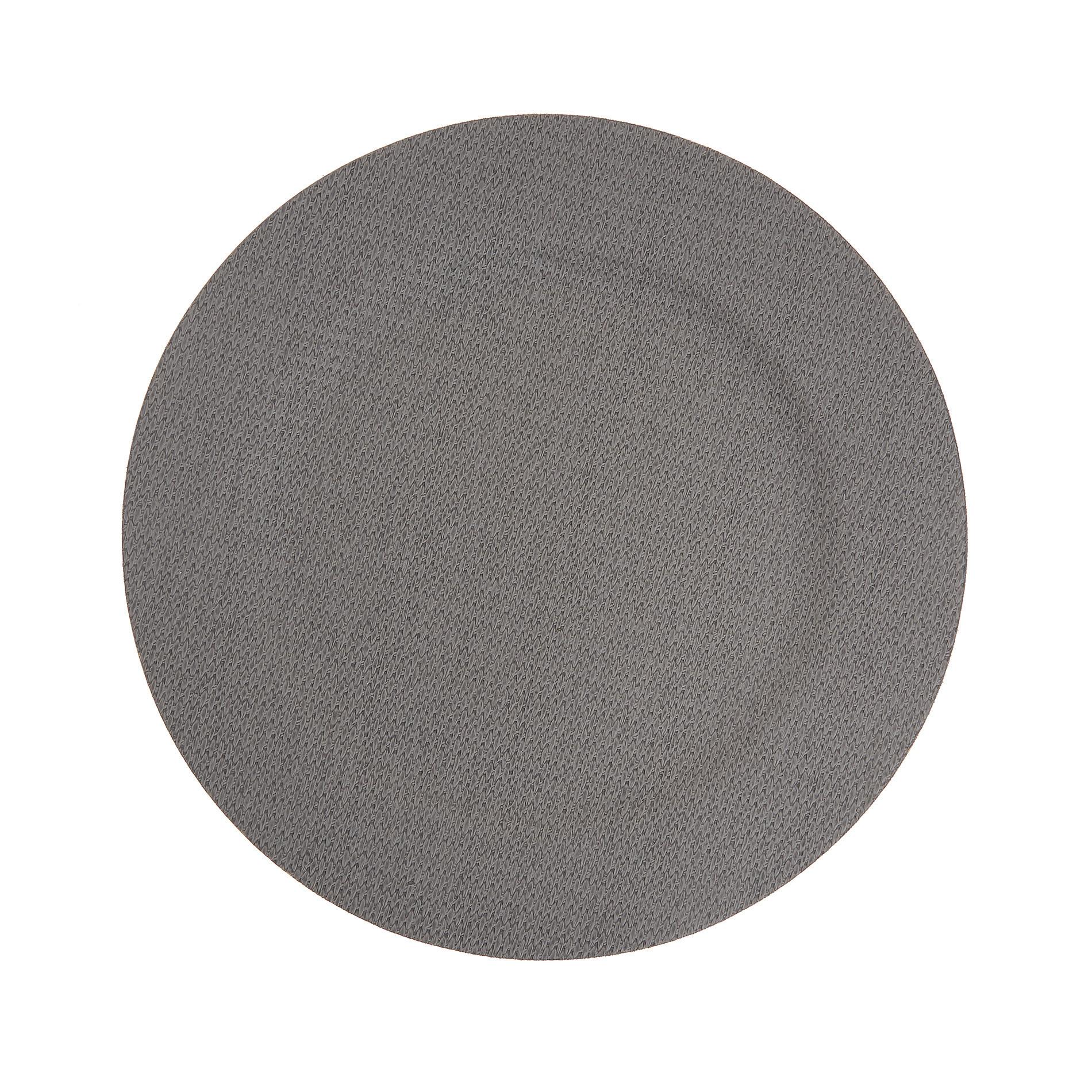 Sottopiatto plastica tinta unita, Grigio, large image number 0