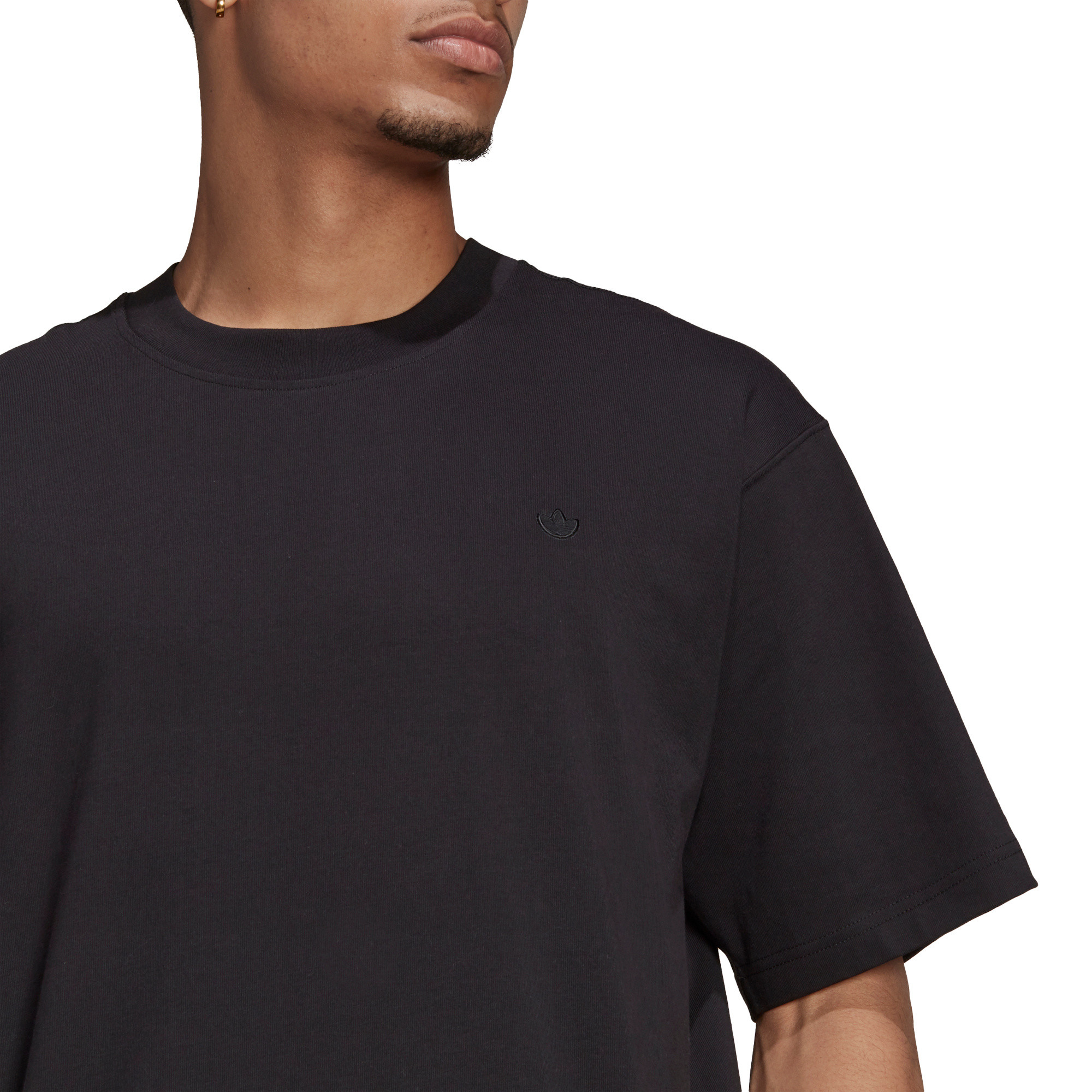 T-shirt uomo adicolor Trefoil, Nero, large image number 5