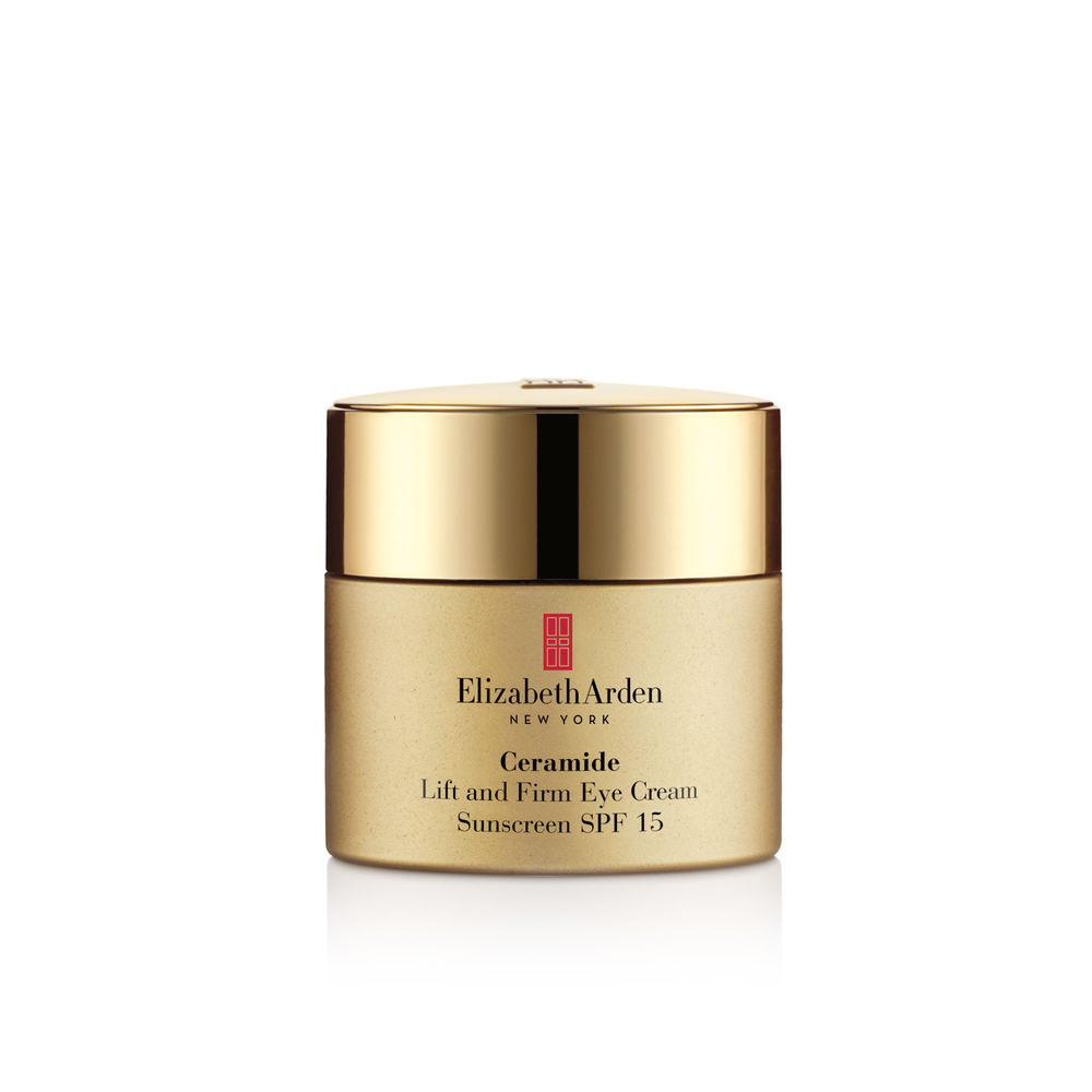 Ceramide lift and firm eye cream sunscreen spf 15 - 14,4 gr, Giallo oro, large image number 0