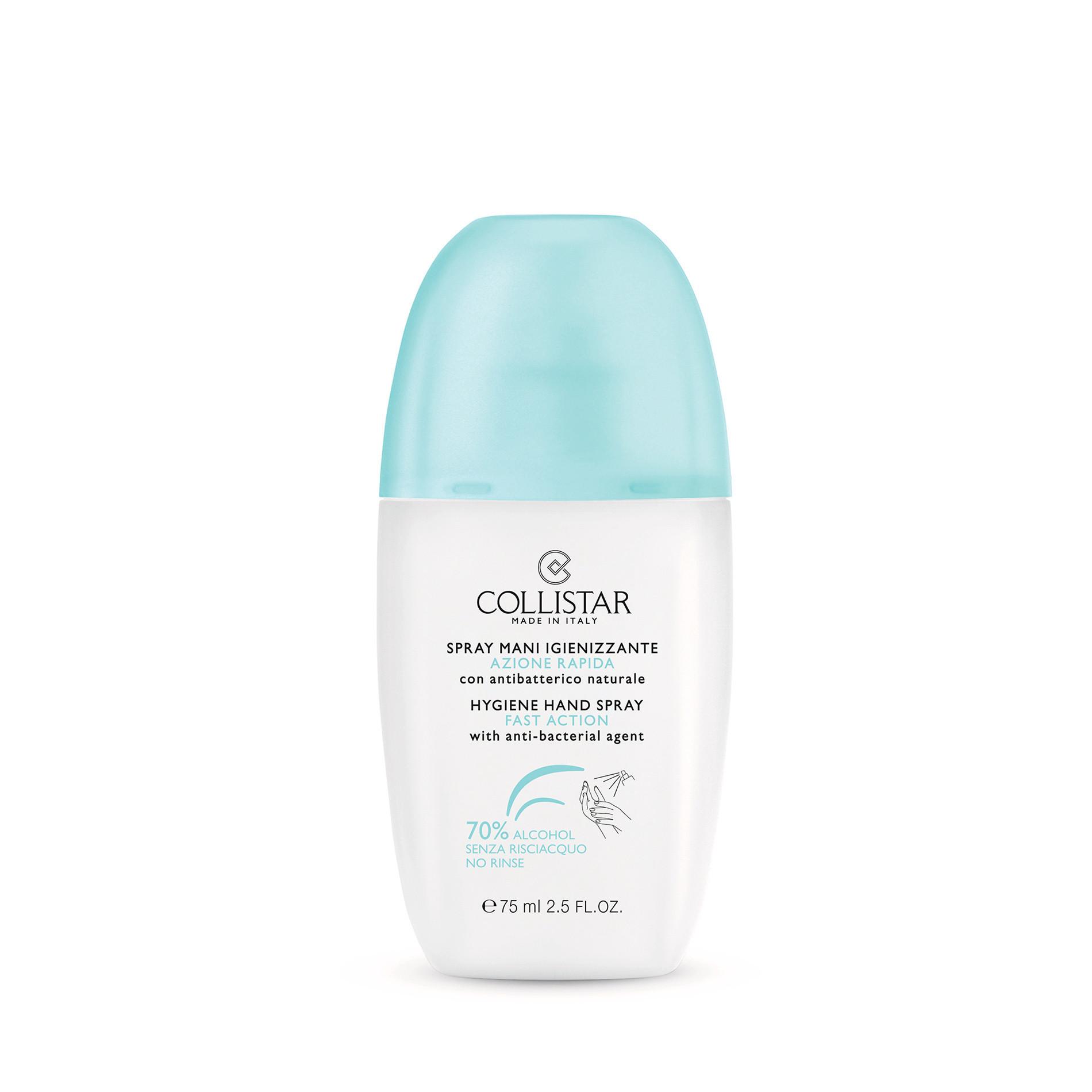 Spray mani igienizzante azione rapida Collistar, Bianco, large image number 0