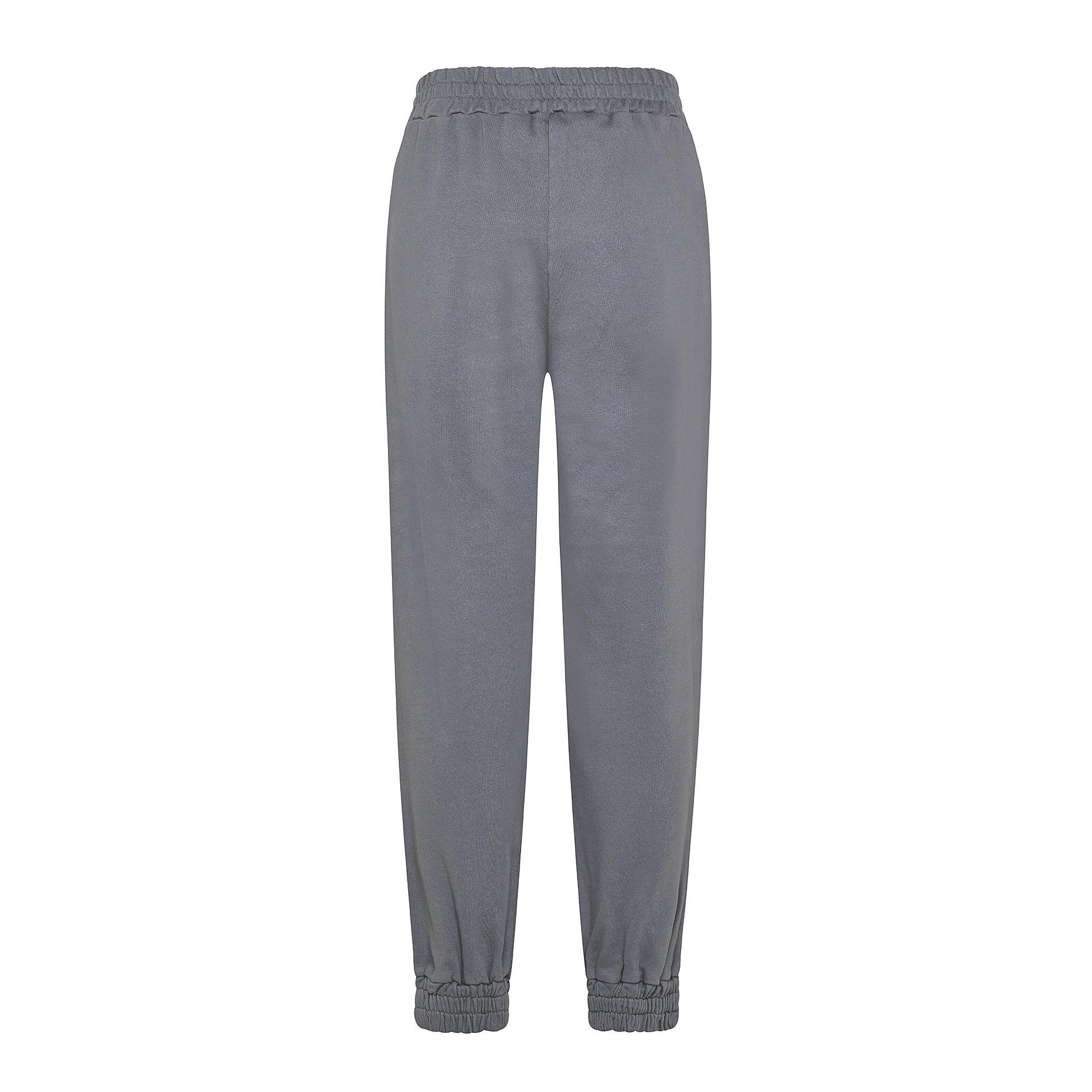 Pantalone felpa cotone biologico Koan, Grigio scuro, large image number 1