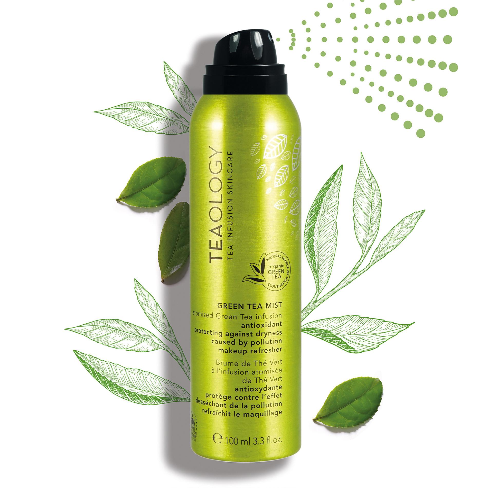 Teaology Green Tea Mist 120 ml, Verde, large image number 3