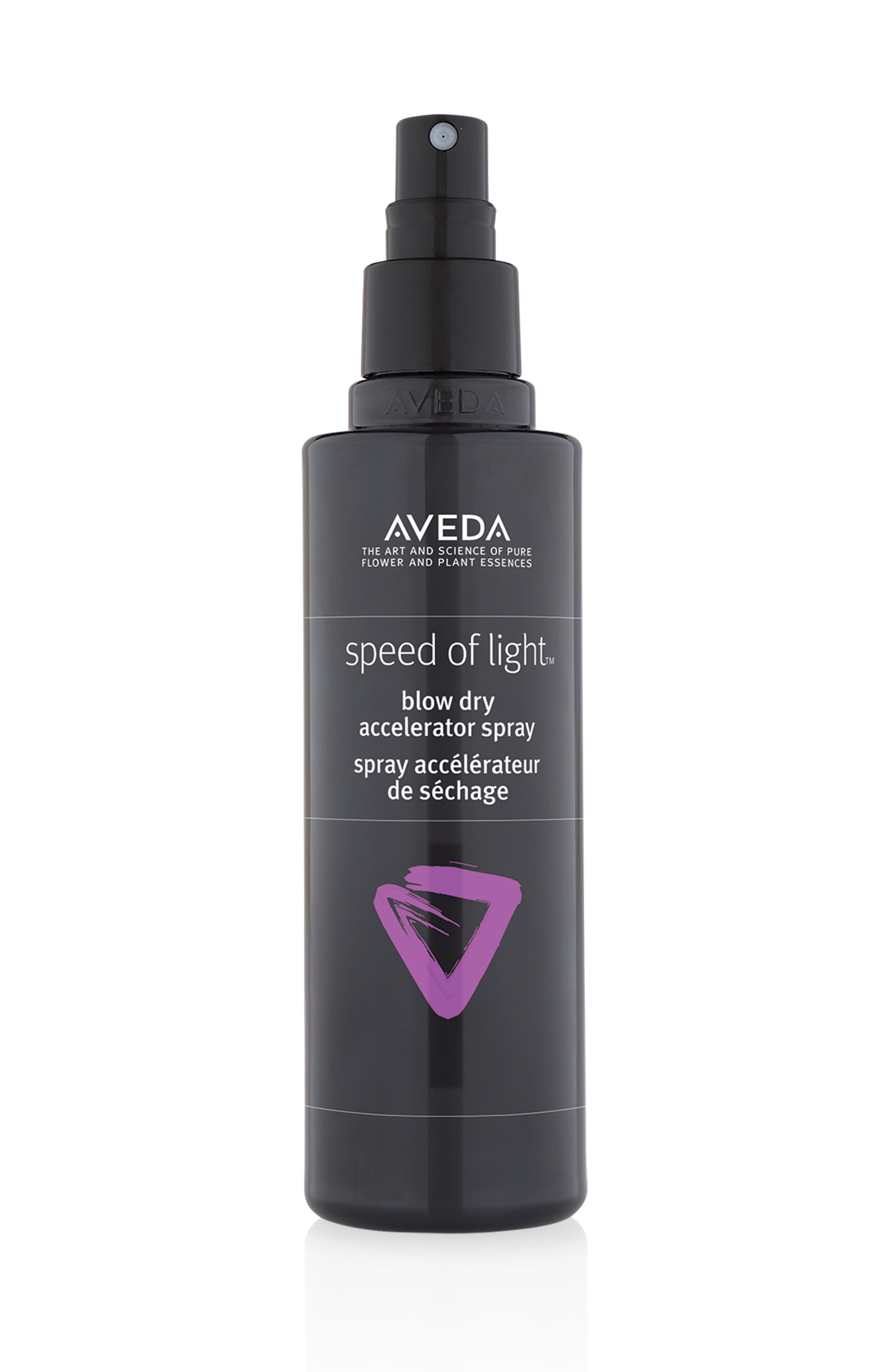 Aveda speed of light - spray pre-asciugatura 200 ml, Nero, large image number 0