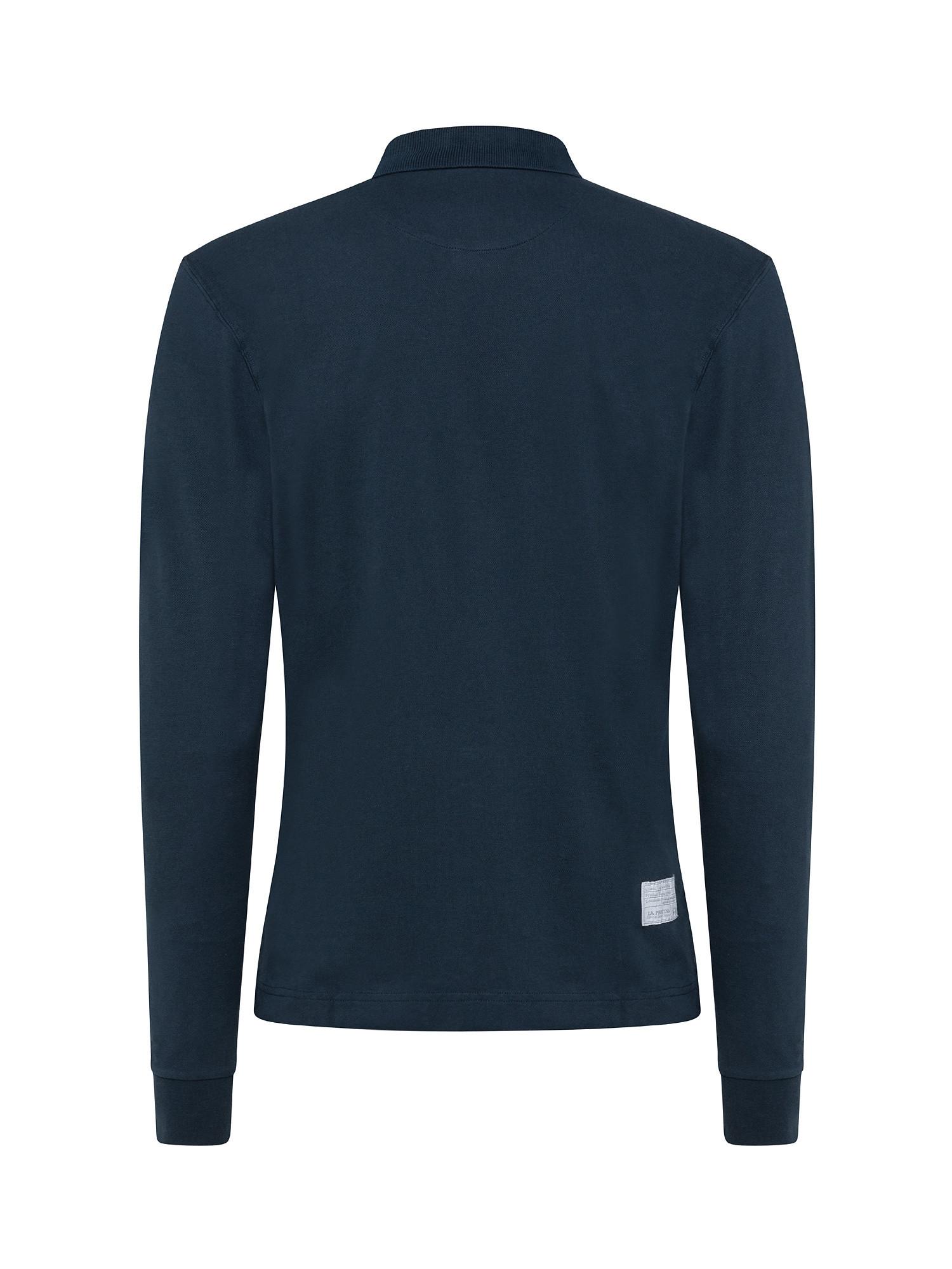 Polo uomo regular fit, Blu, large image number 1