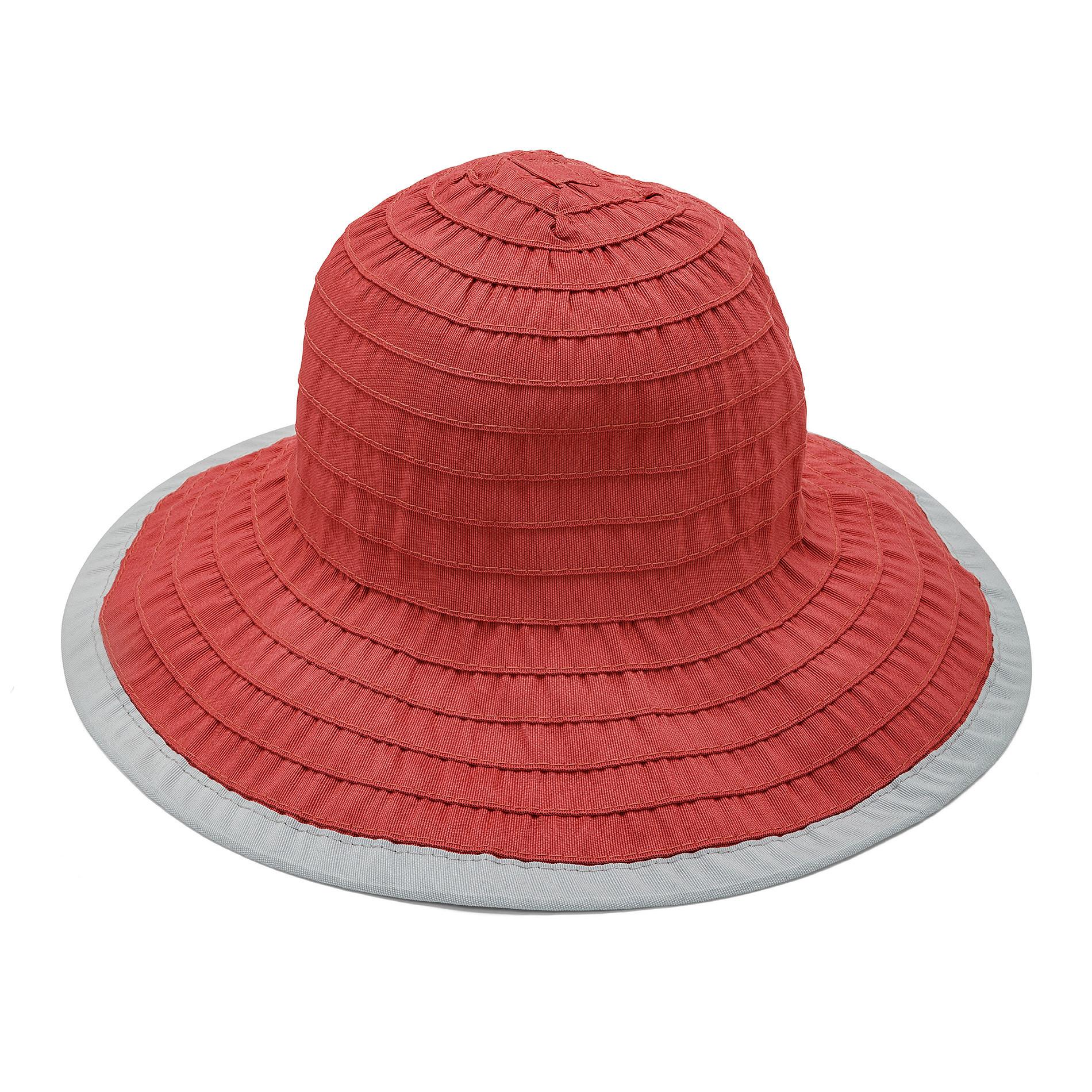 Cappello con effetto riga Koan, Rosso, large image number 0
