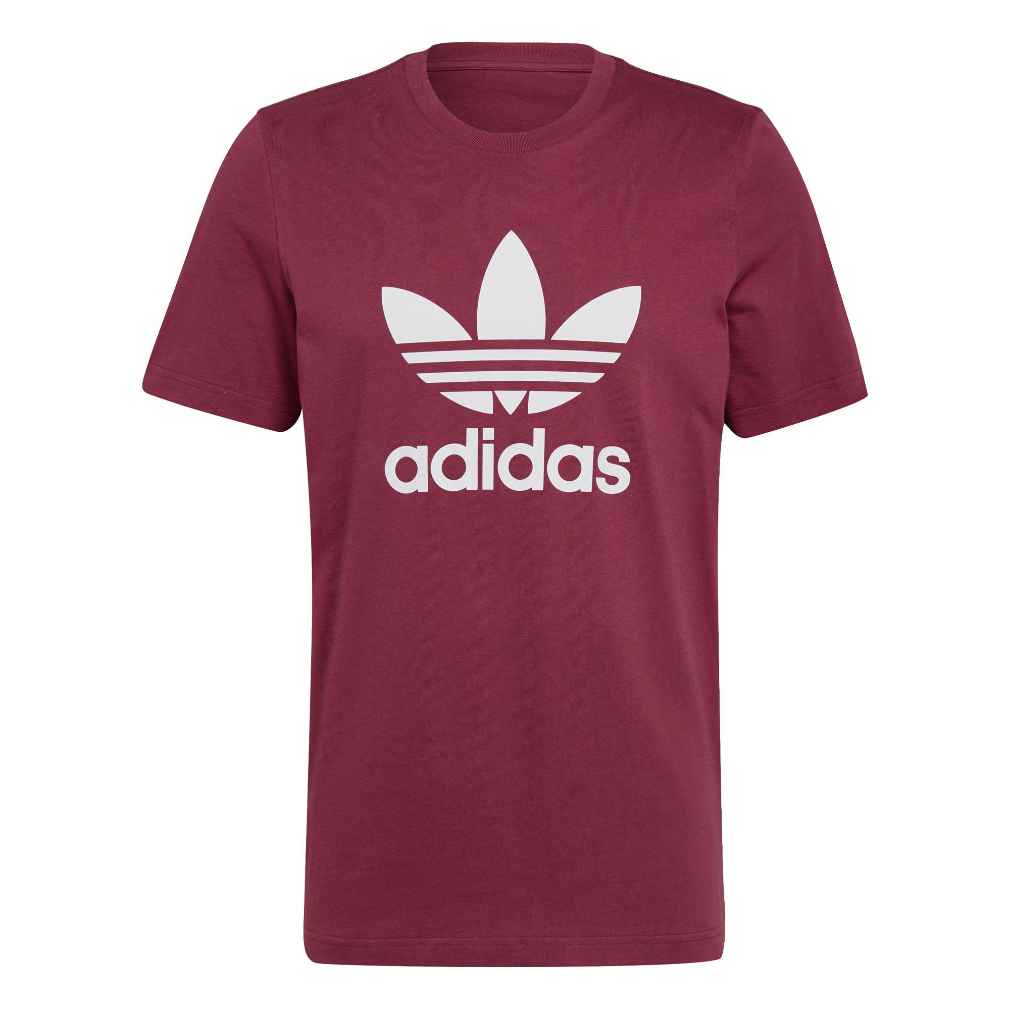 T-shirt uomo adicolor Classics Trefoil, Bianco/Rosso, large image number 0