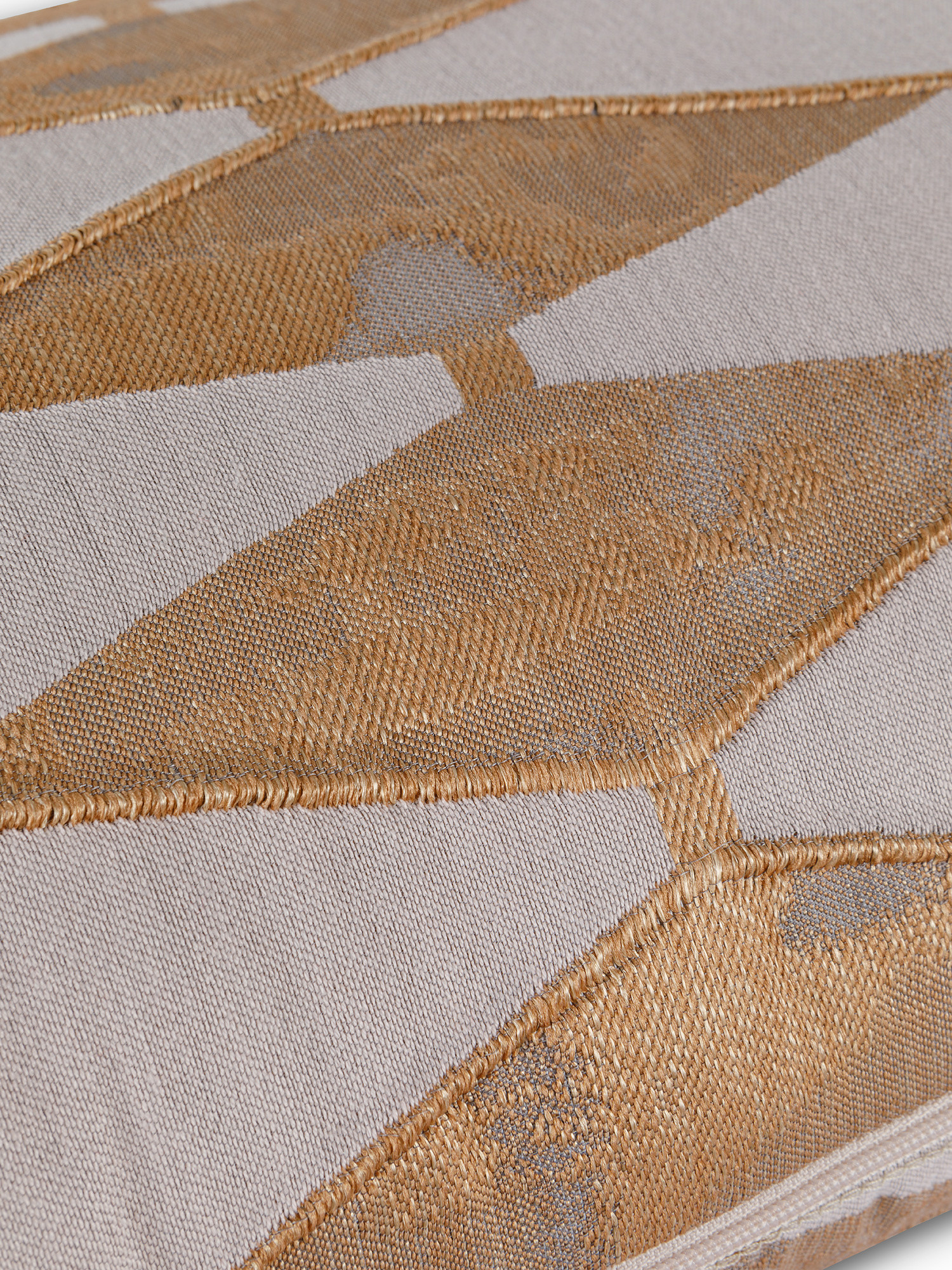 Cuscino tessuto jacquard rombi 35x55cm, Multicolor, large image number 2