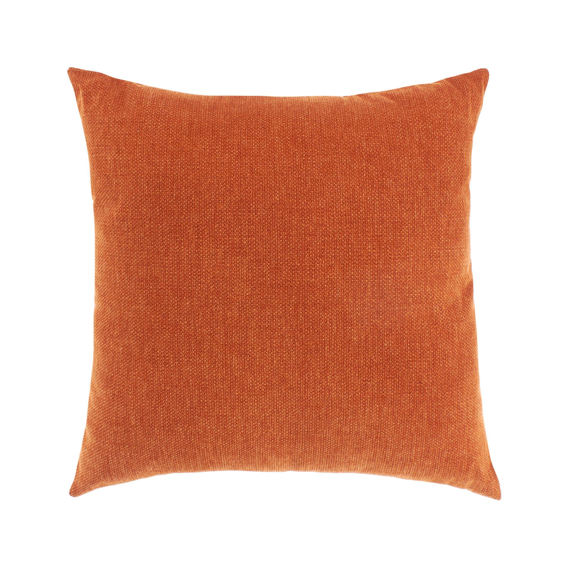 Cuscino tinta unita effetto sfumato, Arancione scuro, large image number 0