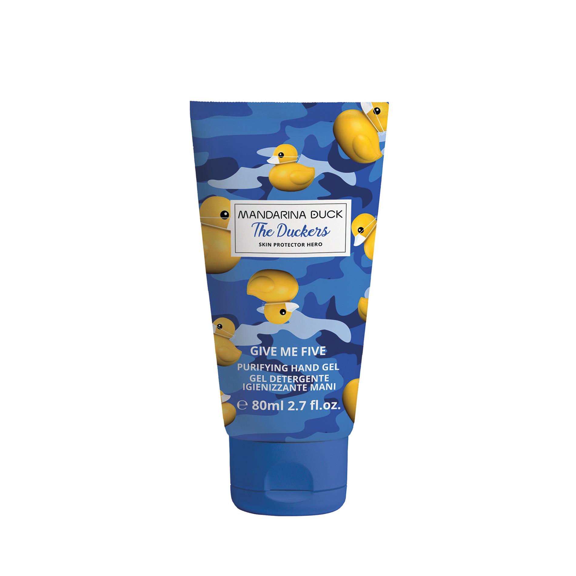 Gel cosmetico sanificante per mani Mandarina Duck 80ml, Multicolor, large image number 0