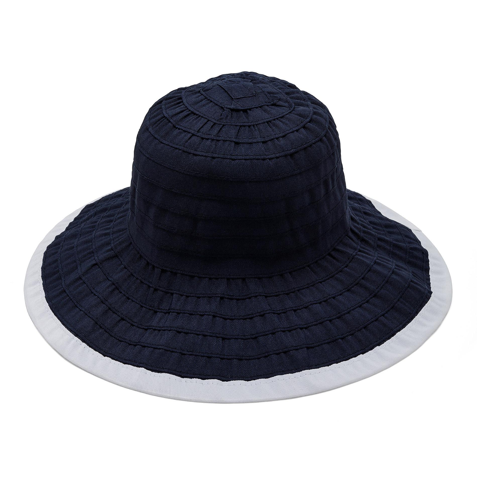 Cappello con effetto riga Koan, Blu scuro, large image number 0