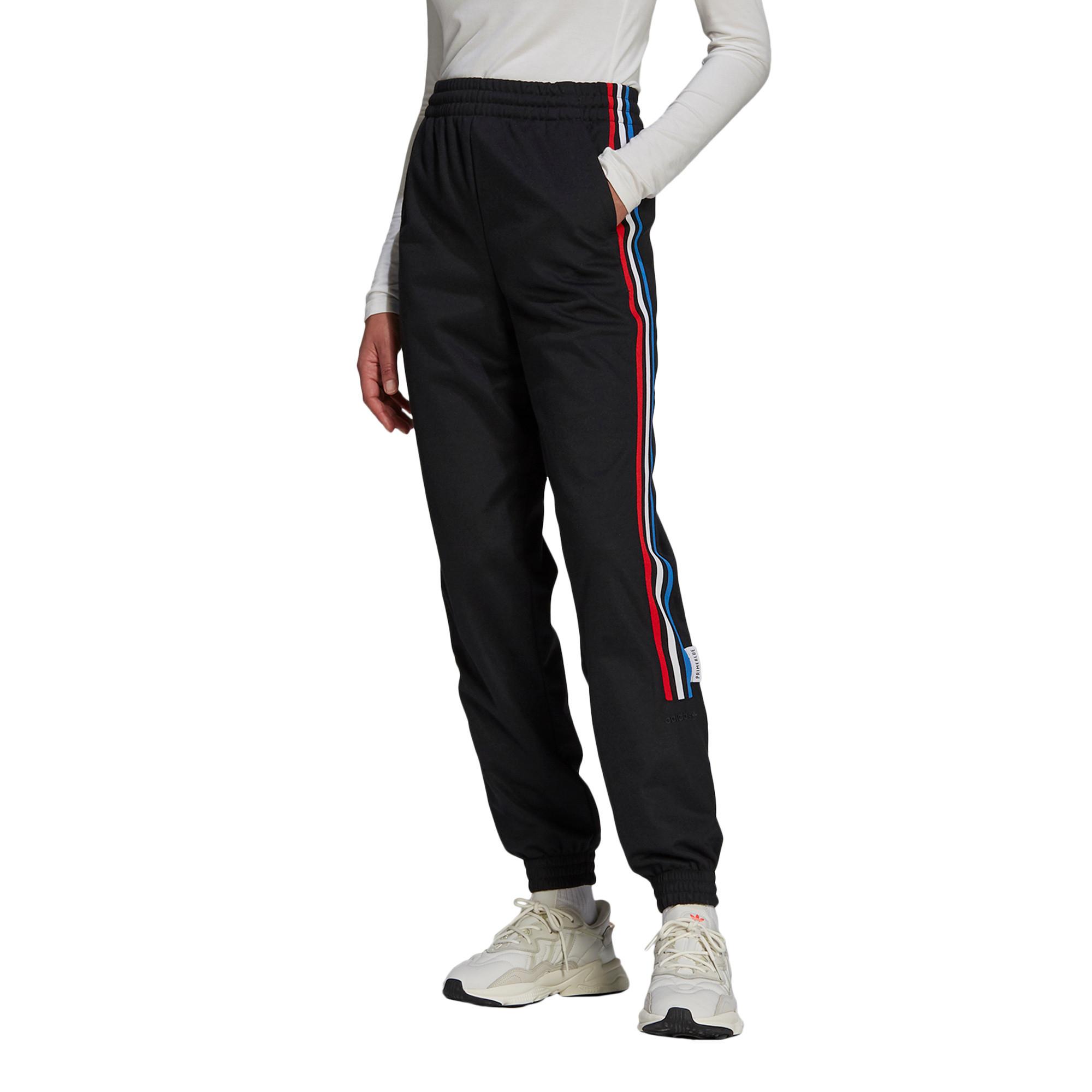 Pantaloni tuta adicolor Tricolor Primeblue, Nero, large image number 4